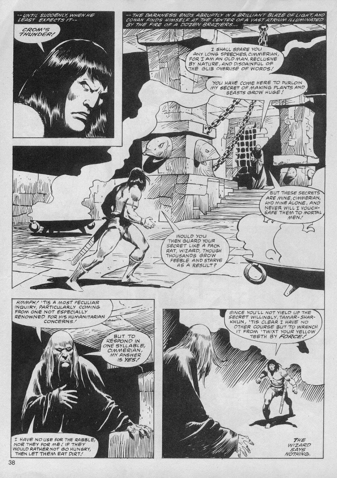 The Savage Sword Of Conan Issue #61 #62 - English 38