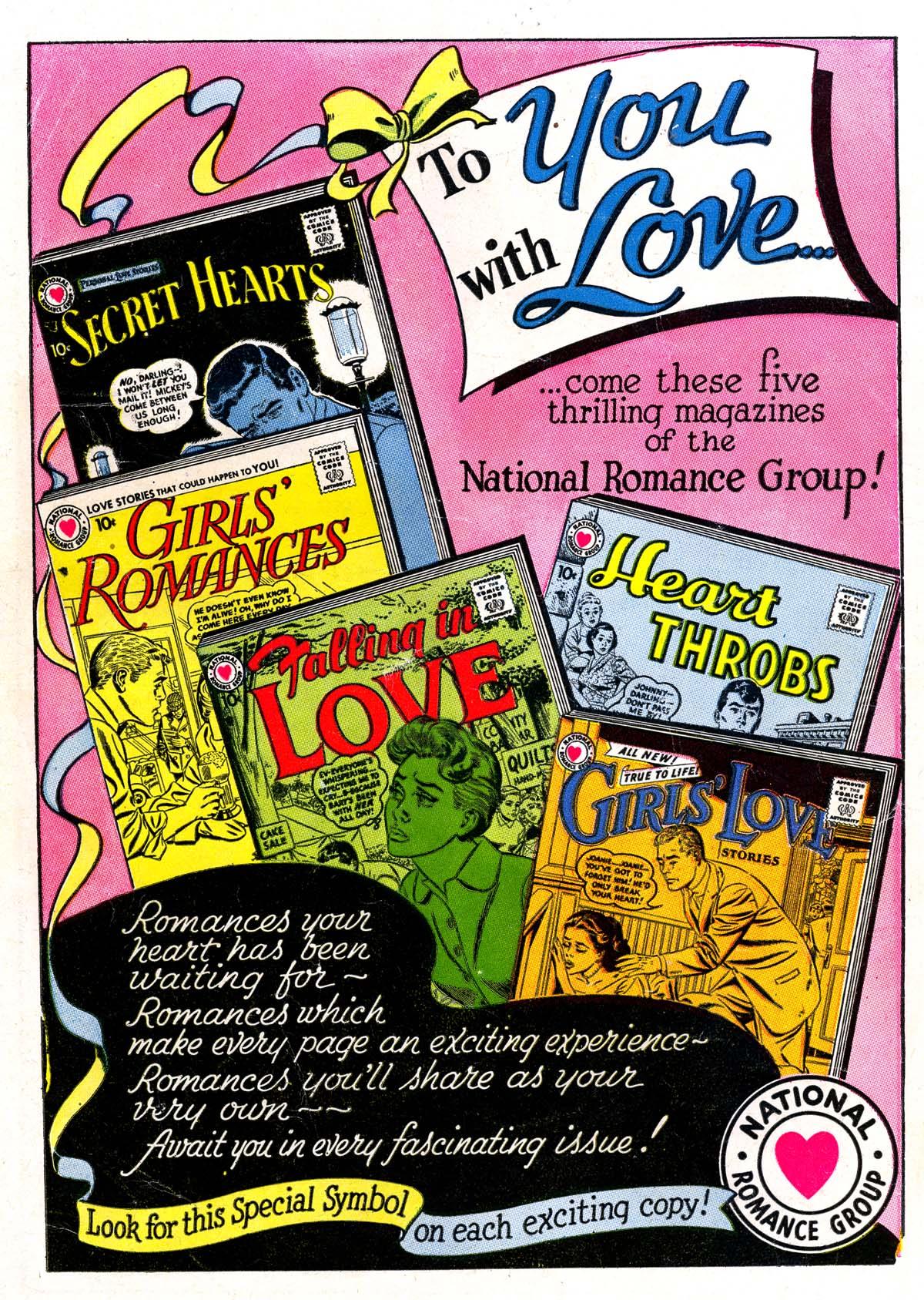 Read online Secret Hearts comic -  Issue #42 - 36