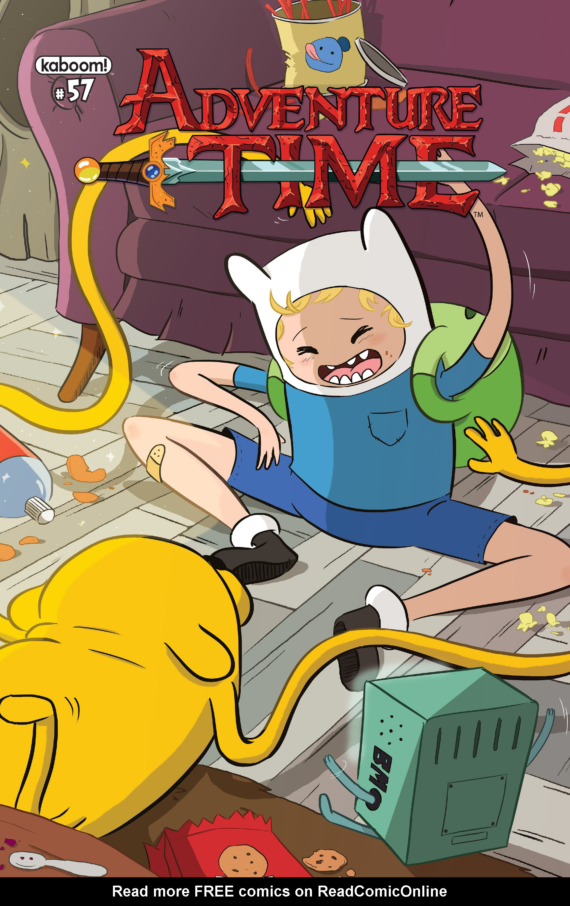 Adventure Time 57 Page 1