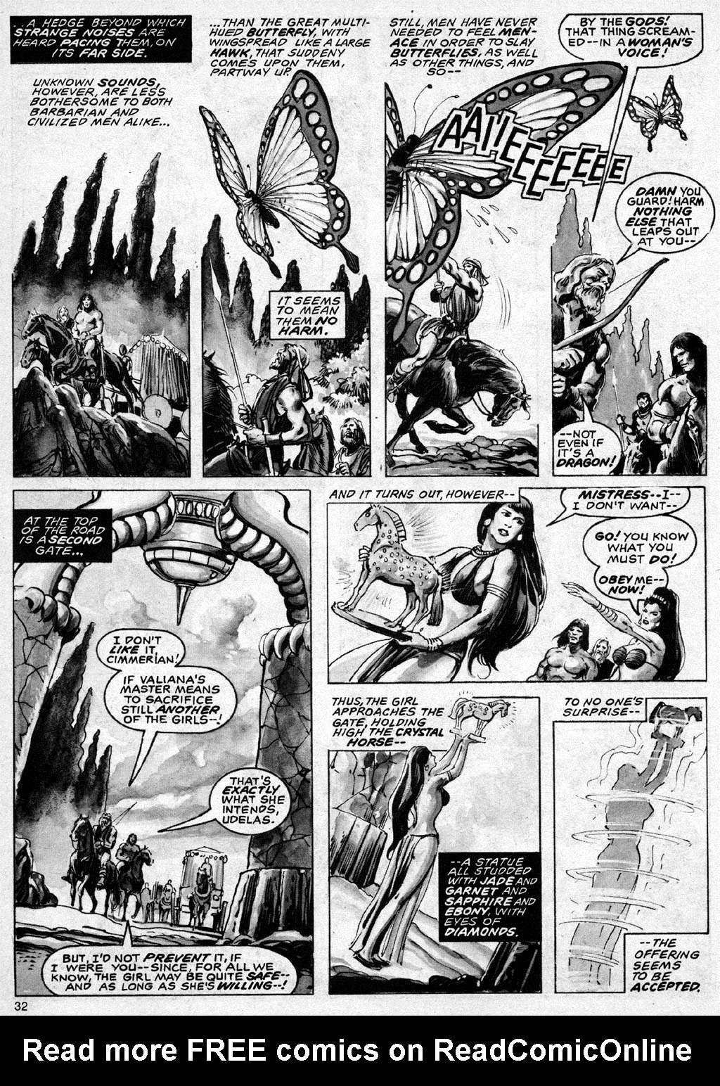 The Savage Sword Of Conan Issue #69 #70 - English 32
