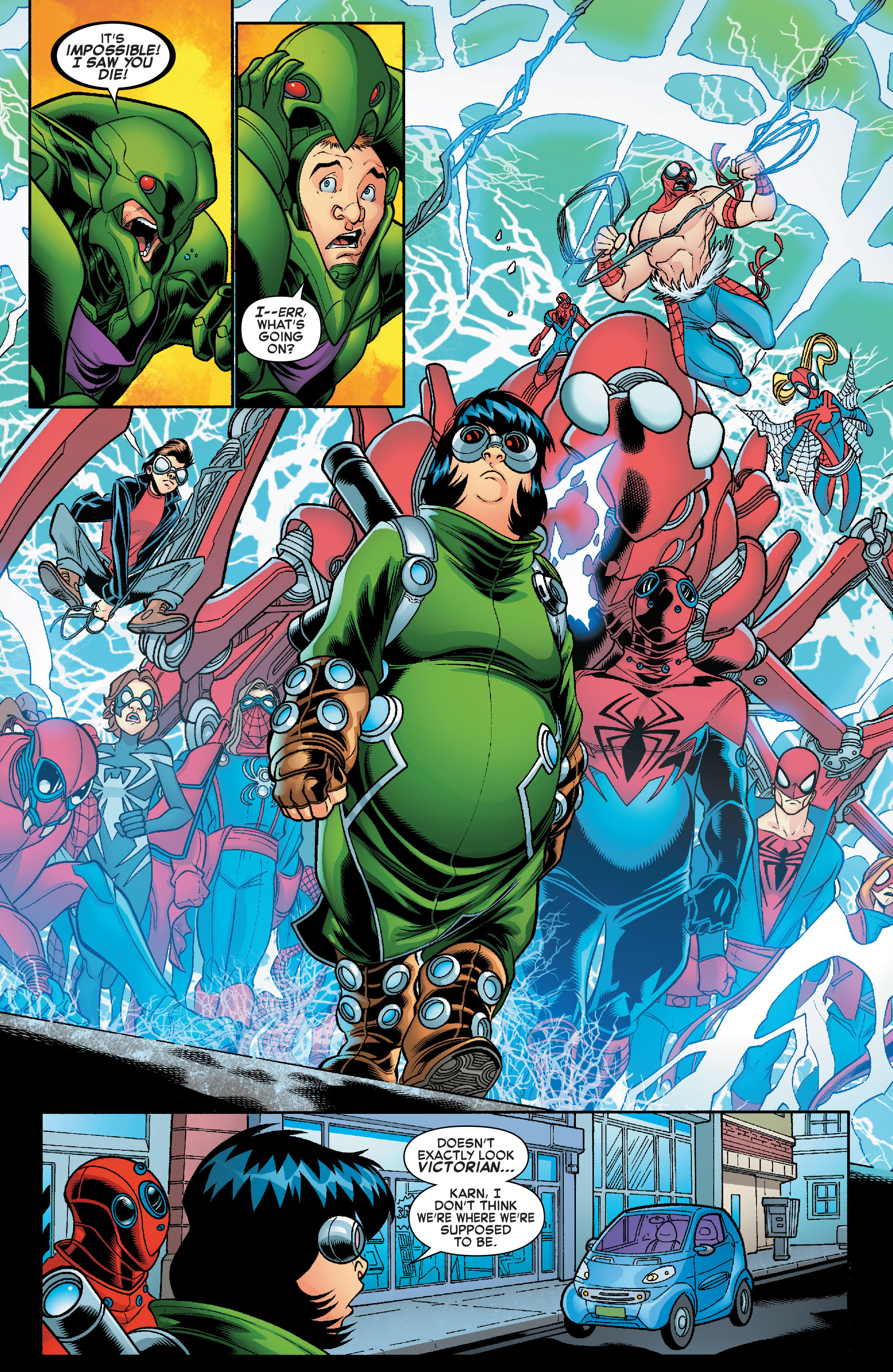 Read online Web Warriors comic -  Issue #10 - 4