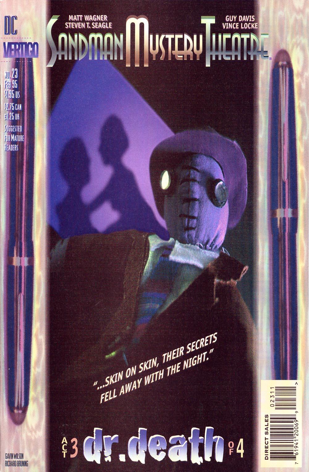 Sandman Mystery Theatre 23 Page 1