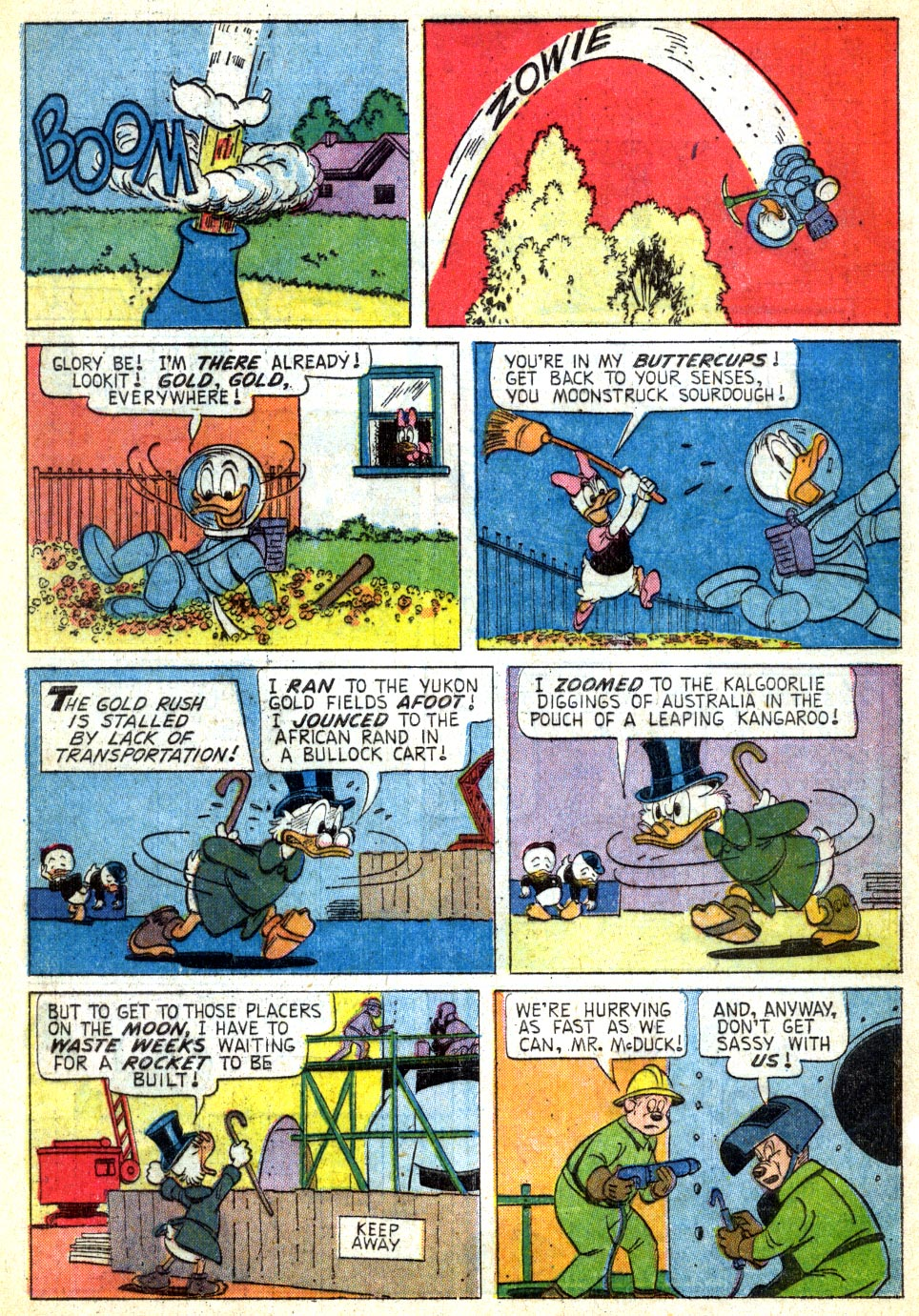 Uncle Scrooge (1953) Issue #49 #49 - English 7
