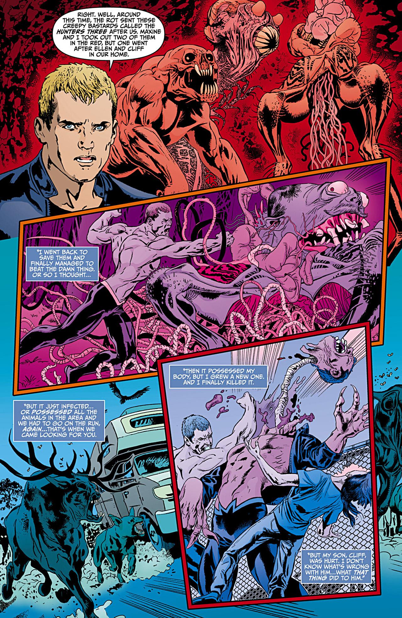 Read online Animal Man (2011) comic -  Issue #12 - 11