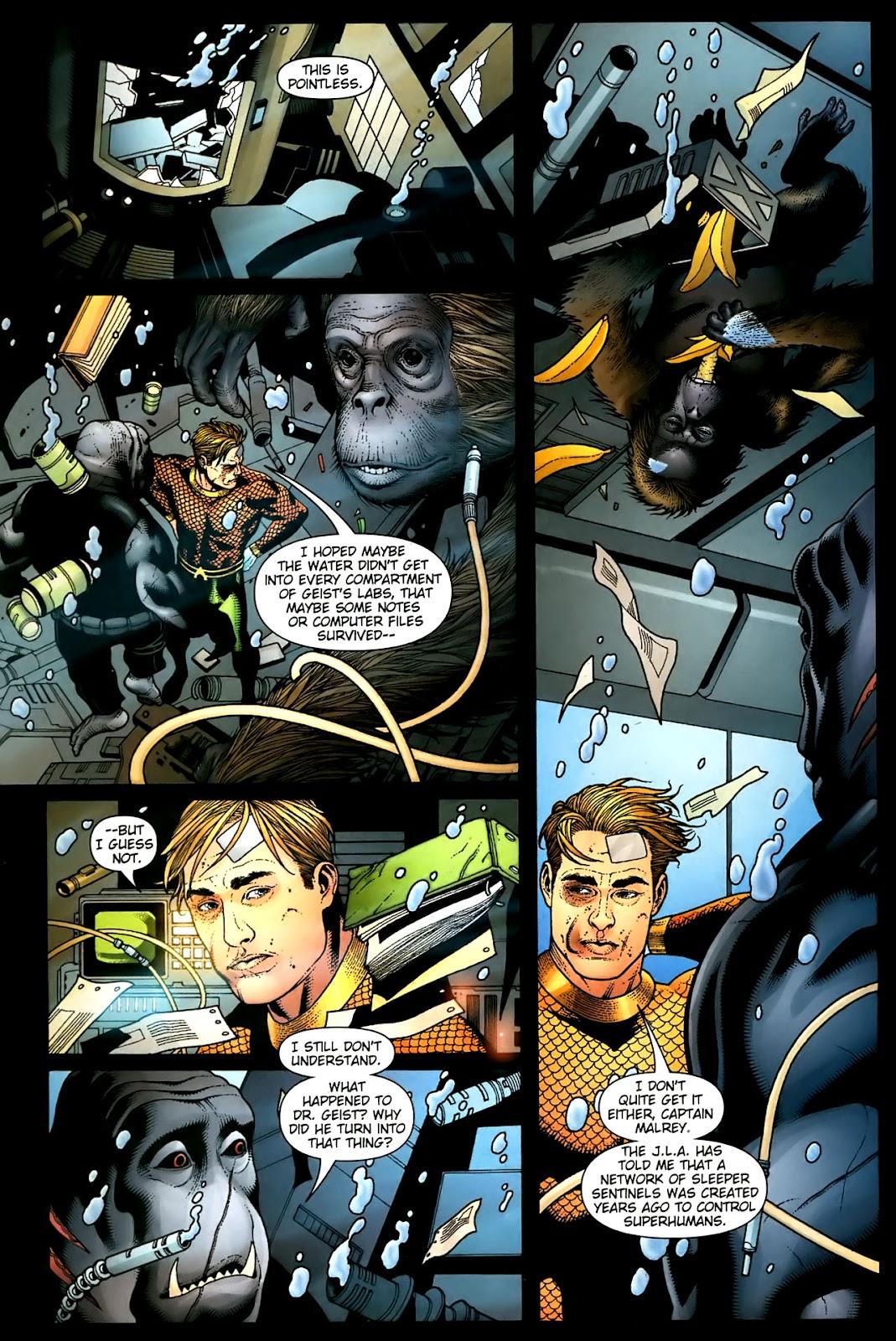 Aquaman (2003) Issue #36 #36 - English 17