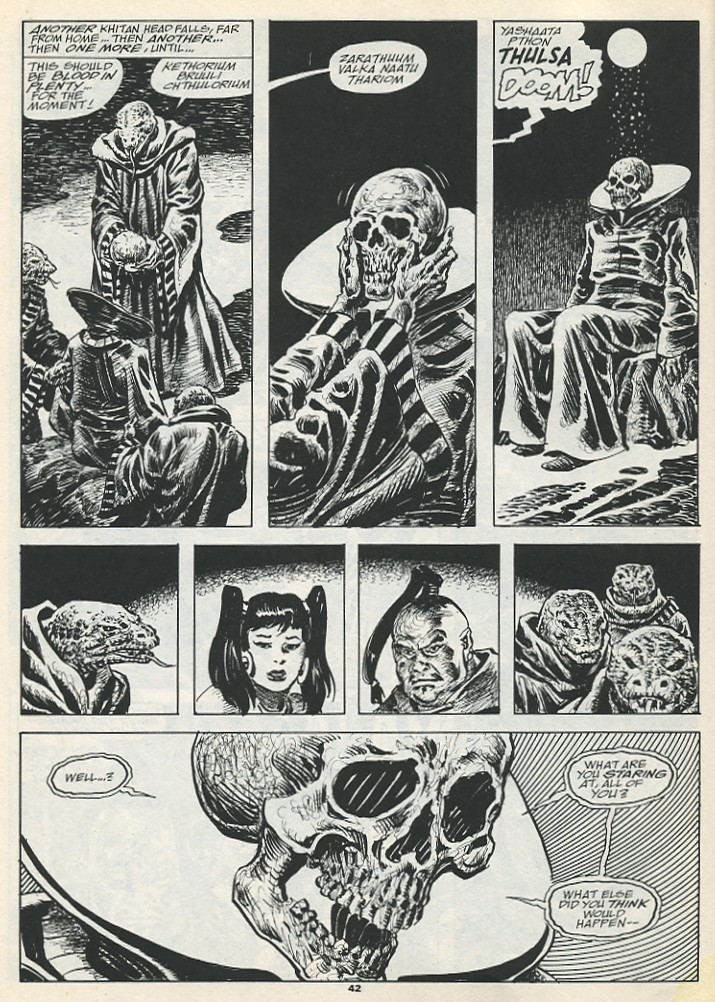 The Savage Sword Of Conan Issue #193 #194 - English 44