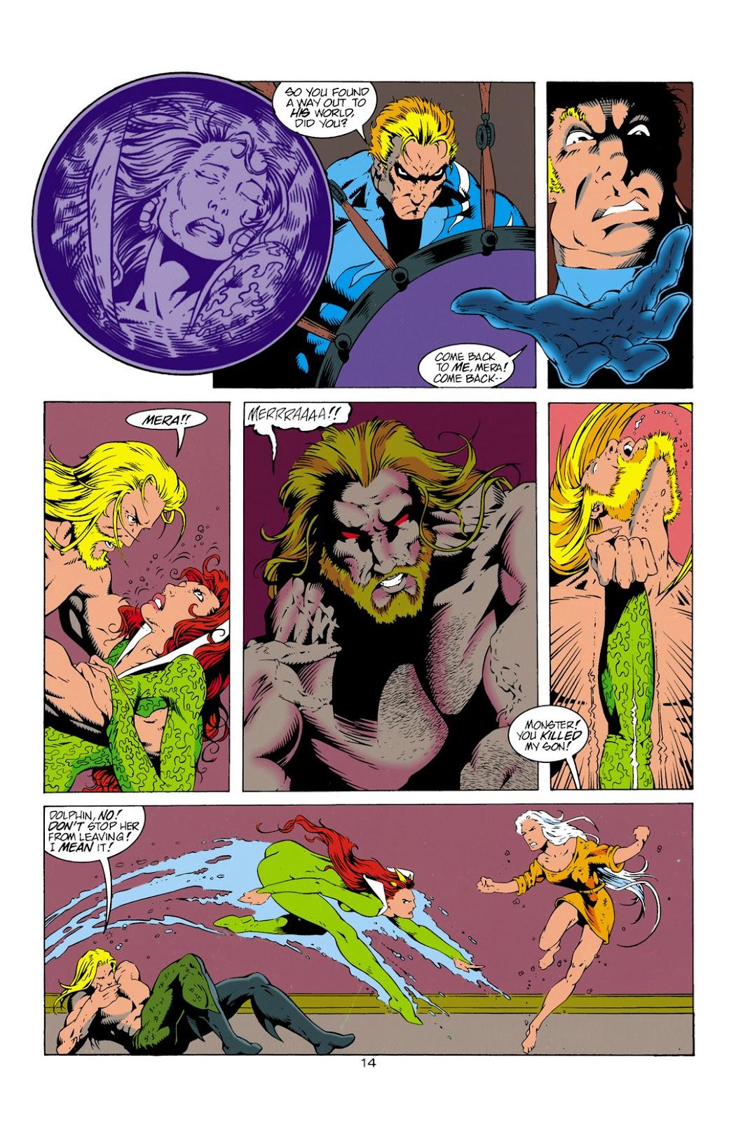 Aquaman (1994) Issue #12 #18 - English 15