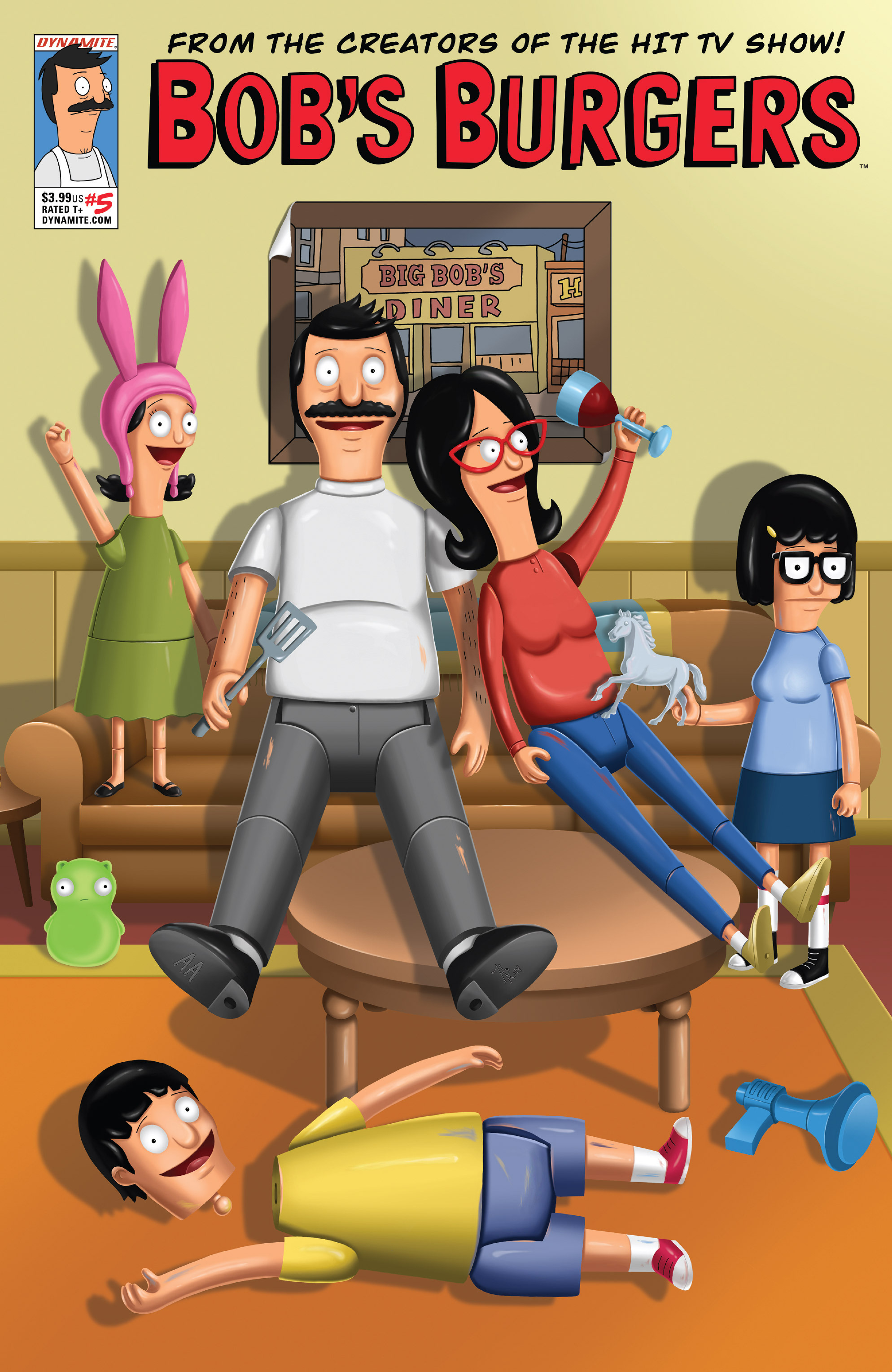 Read online Bob's Burgers (2014) comic -  Issue #5 - 1