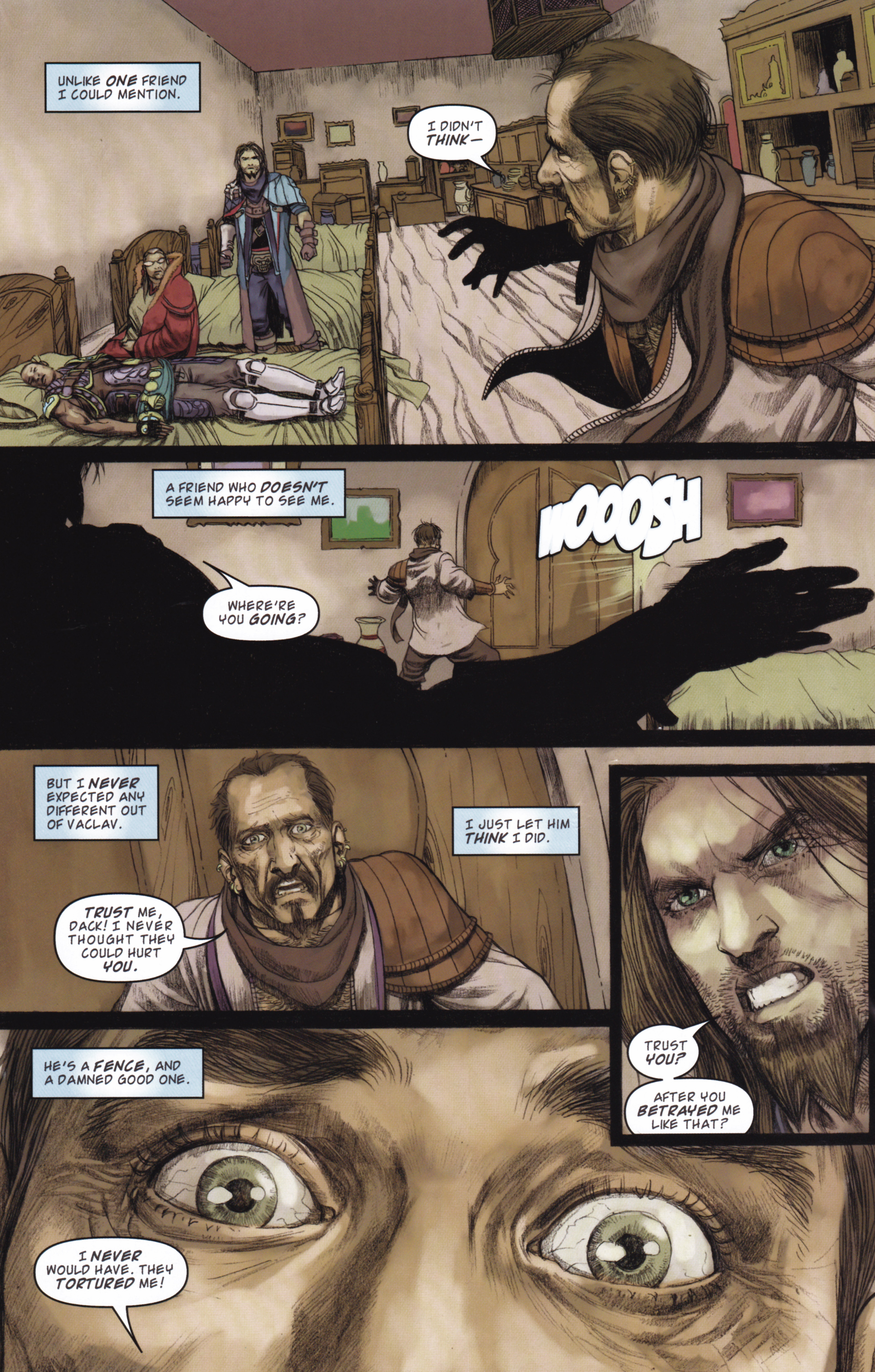 Read online Magic: The Gathering--Path of Vengeance comic -  Issue #2 - 18
