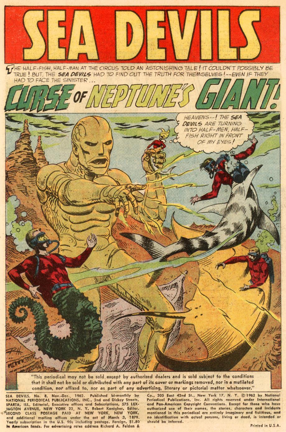 Read online Sea Devils comic -  Issue #8 - 4