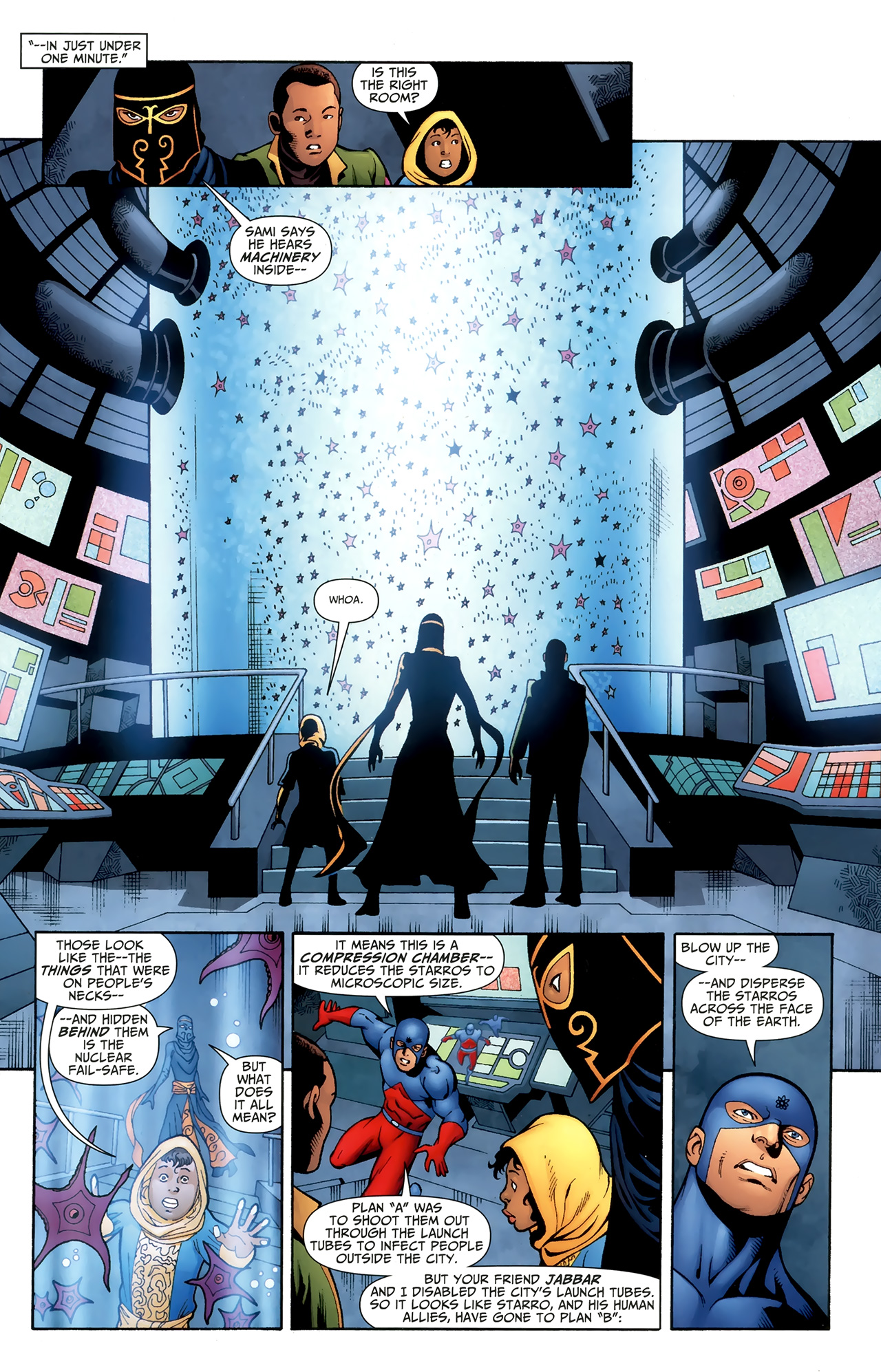 Read online Justice League of America/The 99 comic -  Issue #6 - 7
