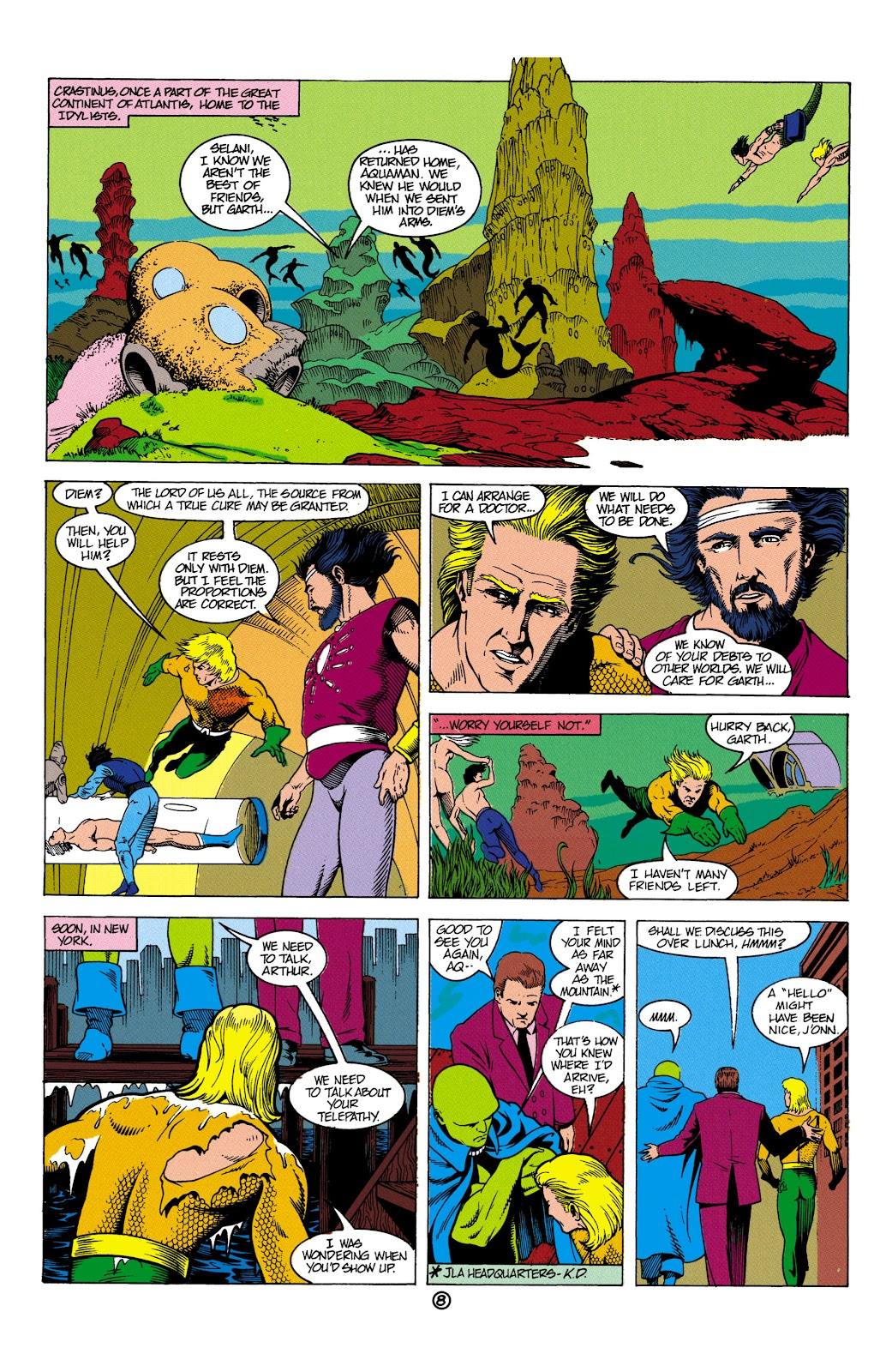 Aquaman (1991) Issue #5 #5 - English 9