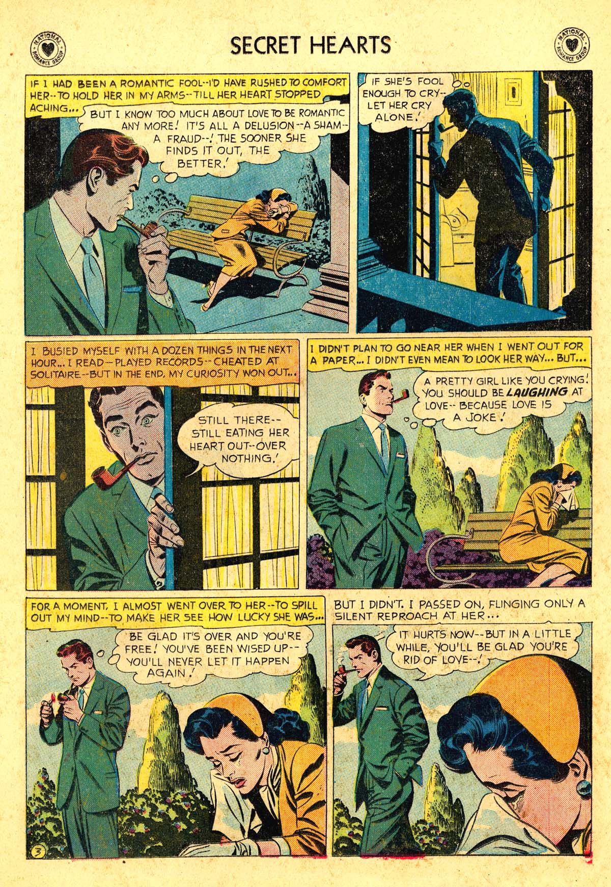 Read online Secret Hearts comic -  Issue #54 - 28