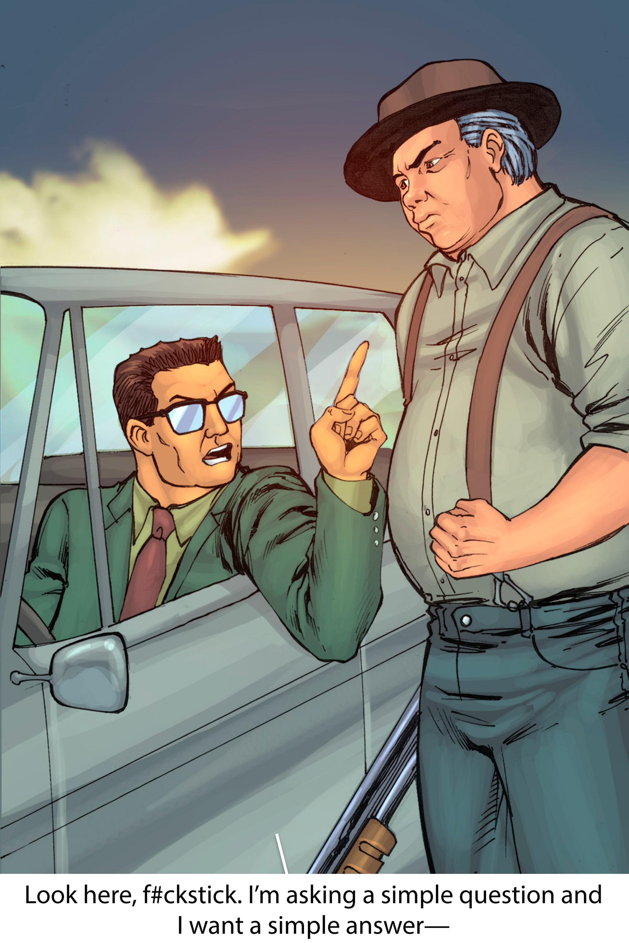 Read online Z-Men comic -  Issue #1 - 128