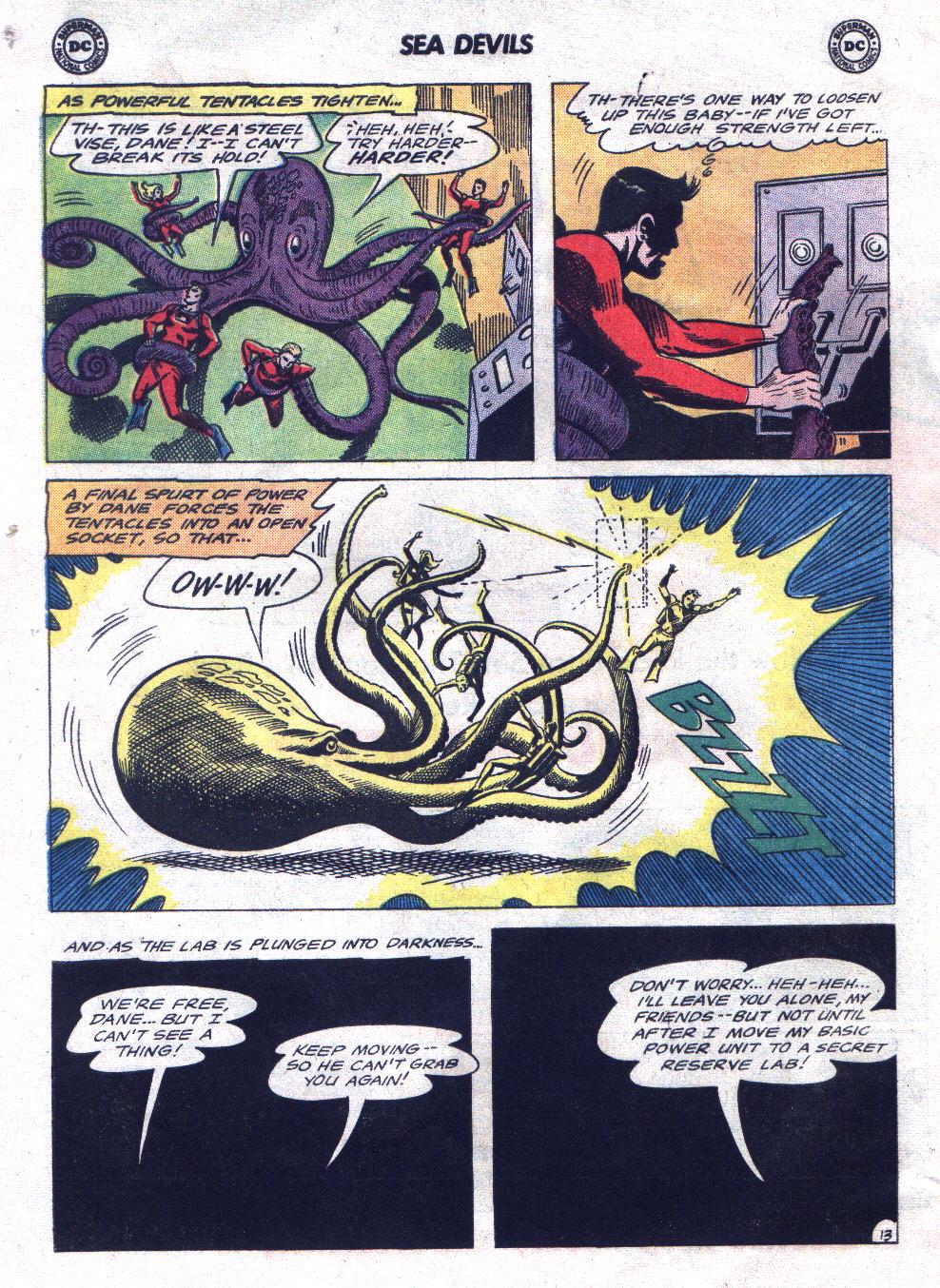 Read online Sea Devils comic -  Issue #21 - 20