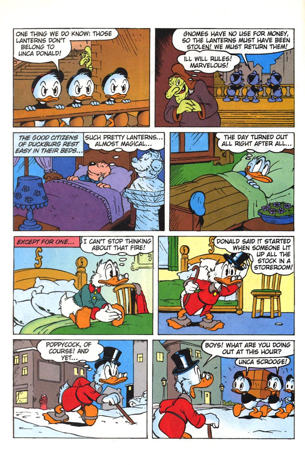 Uncle Scrooge (1953) Issue #308 #308 - English 21