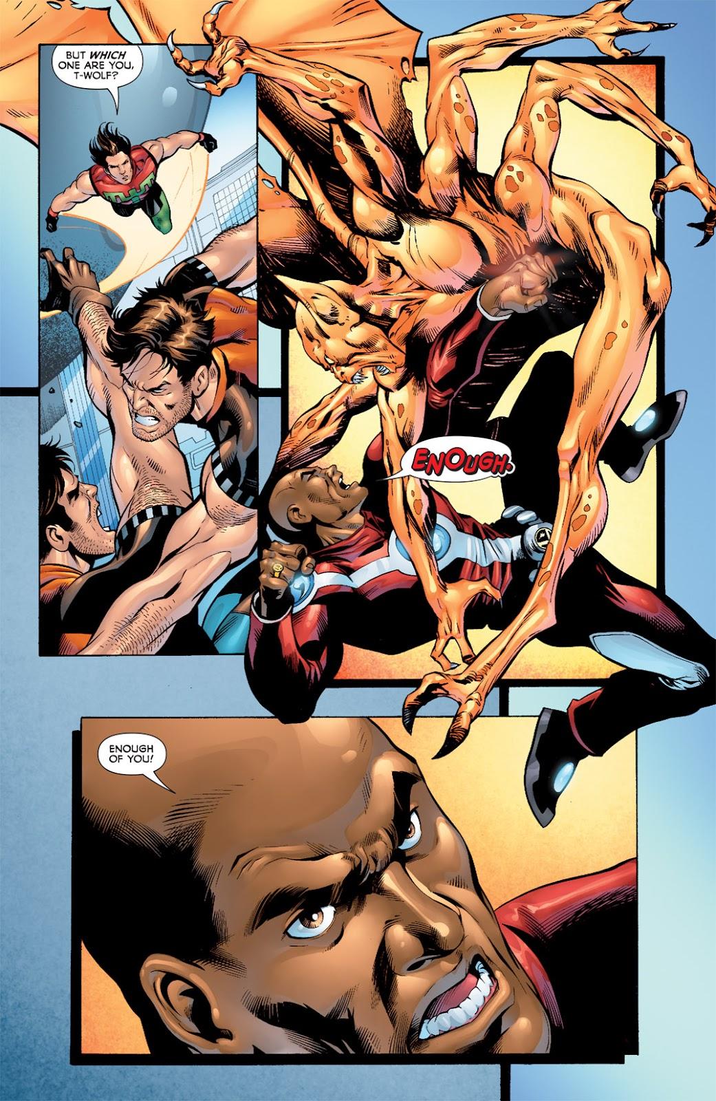 Legion of Super-Heroes (2010) Issue #7 #8 - English 16