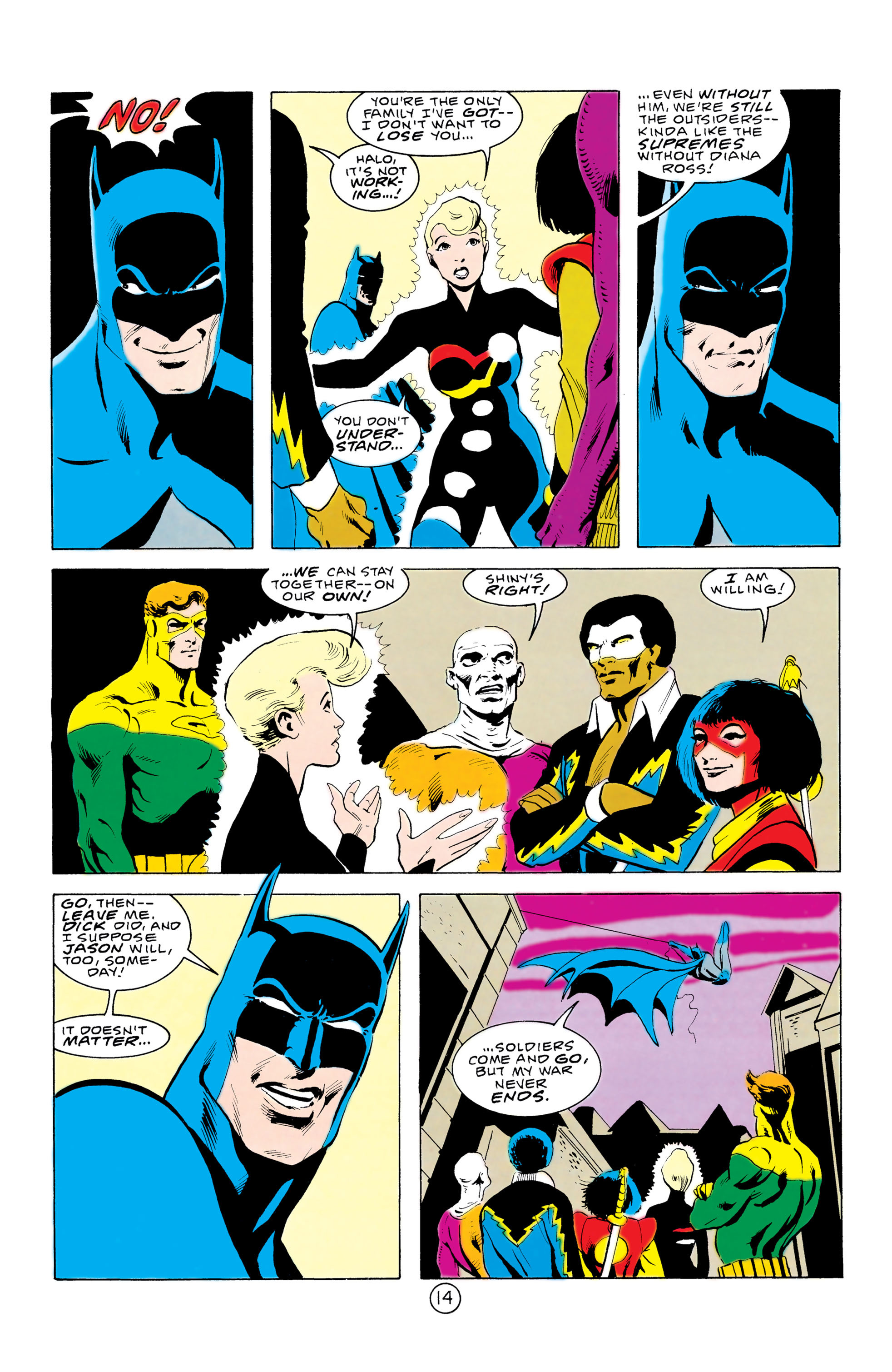 Batman and the Outsiders (1983) 32 Page 14