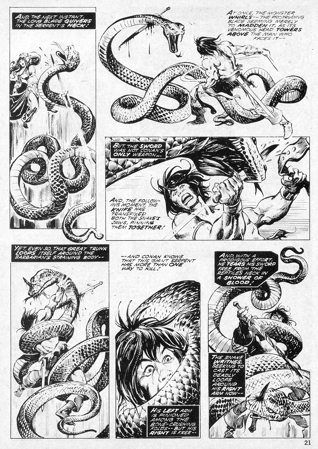 The Savage Sword Of Conan Issue #19 #20 - English 21