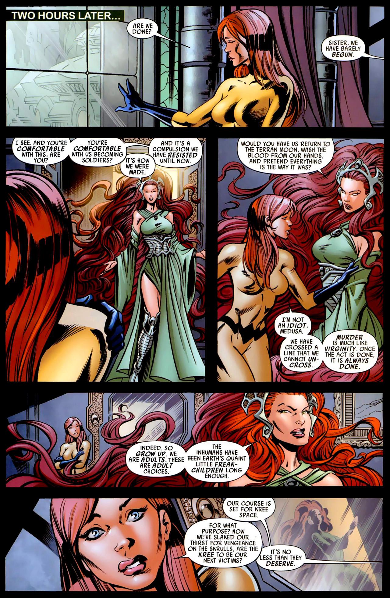 Read online Secret Invasion: War of Kings comic -  Issue # Full - 23
