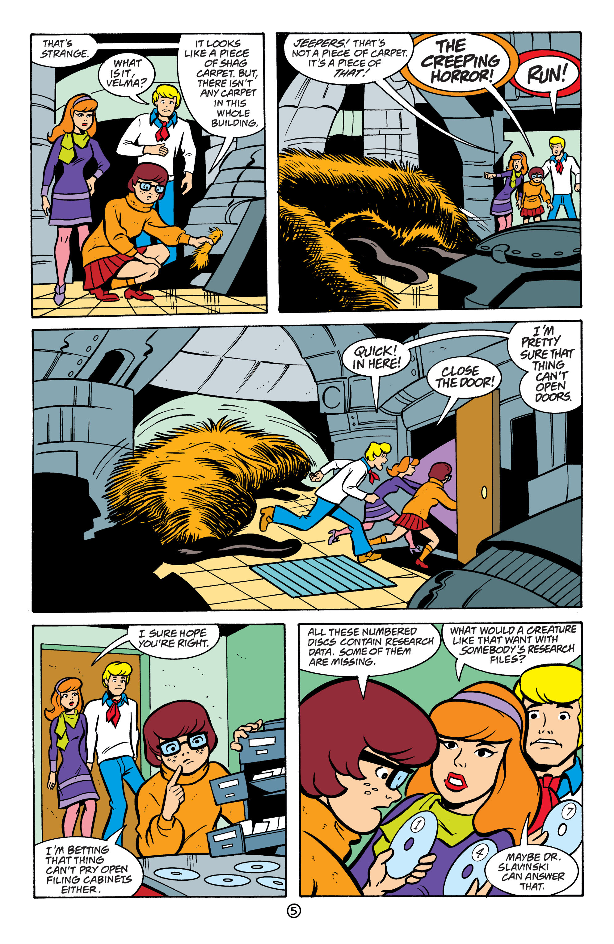Read online Scooby-Doo: Where Are You? comic -  Issue #64 - 16