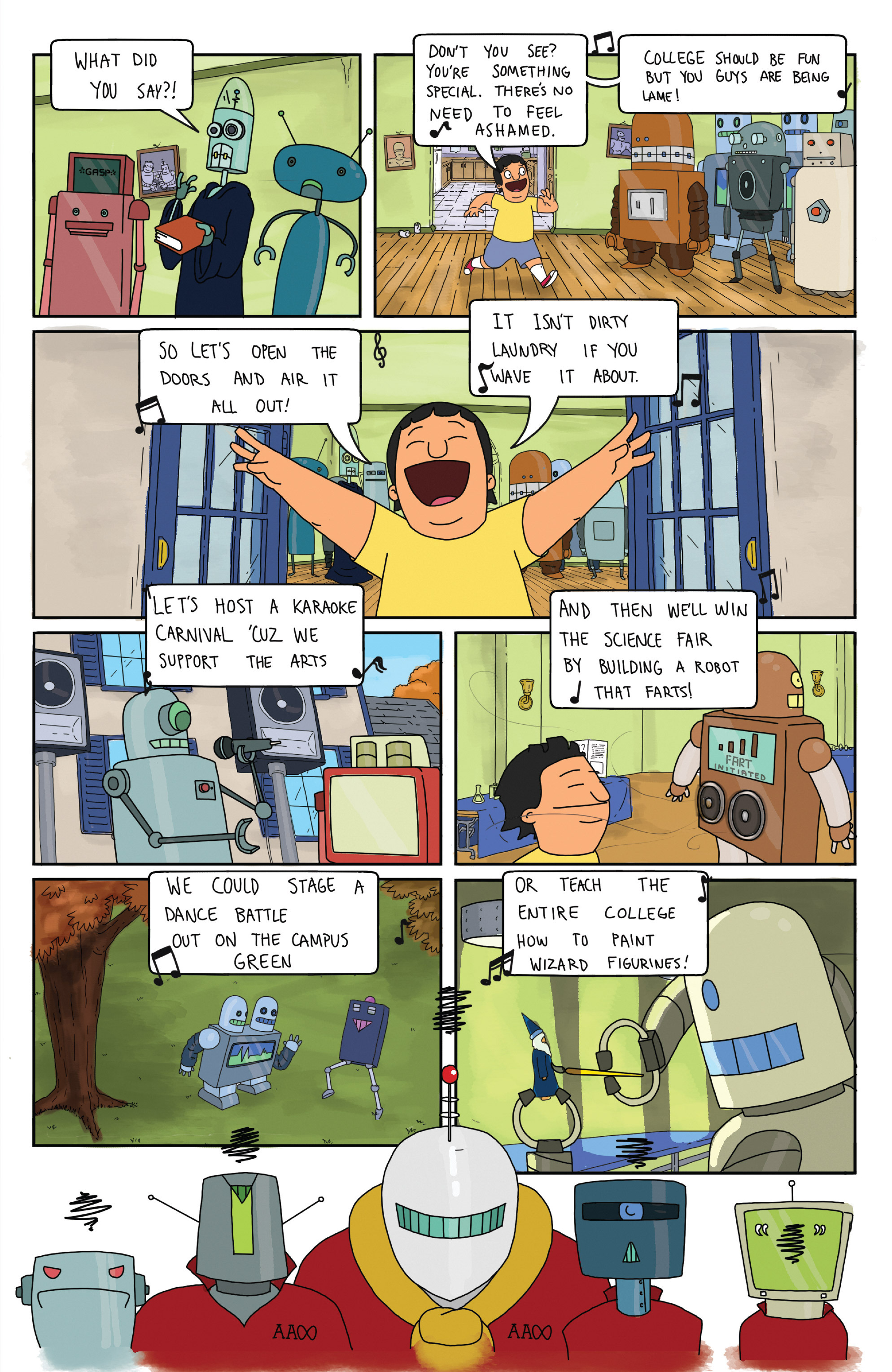 Read online Bob's Burgers (2014) comic -  Issue #5 - 21