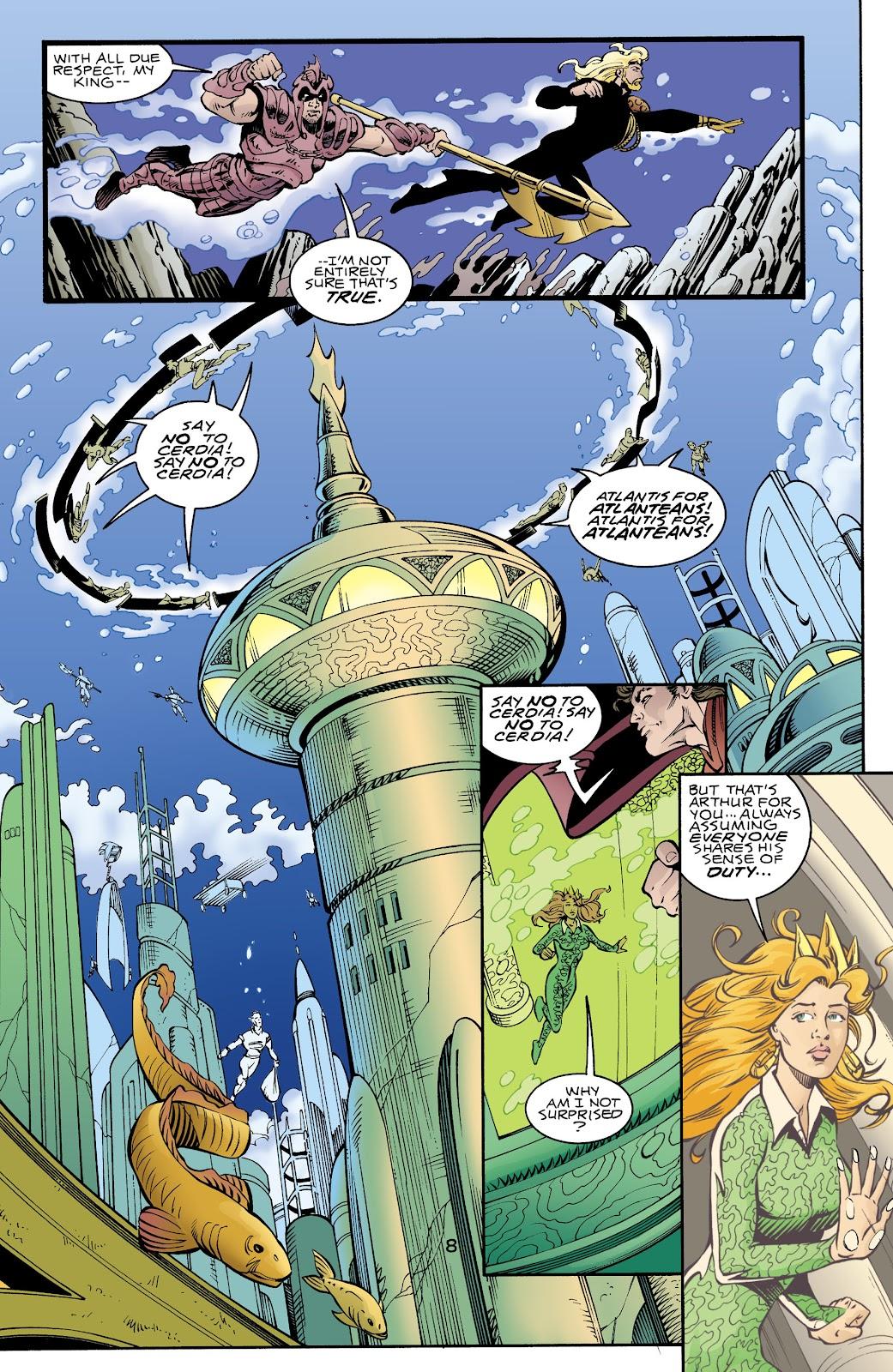 Aquaman (1994) Issue #70 #76 - English 8