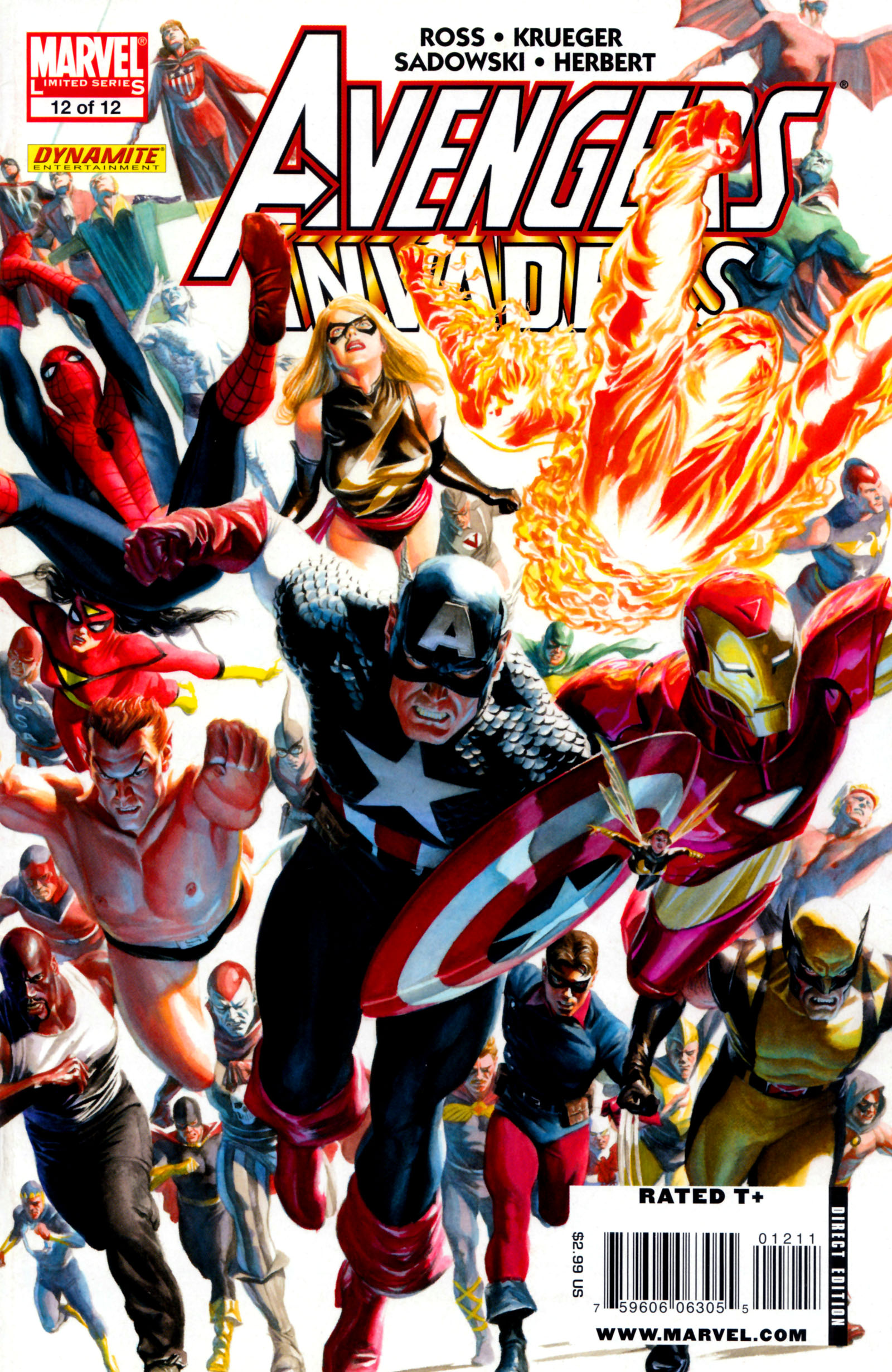 Avengers/Invaders 12 Page 1