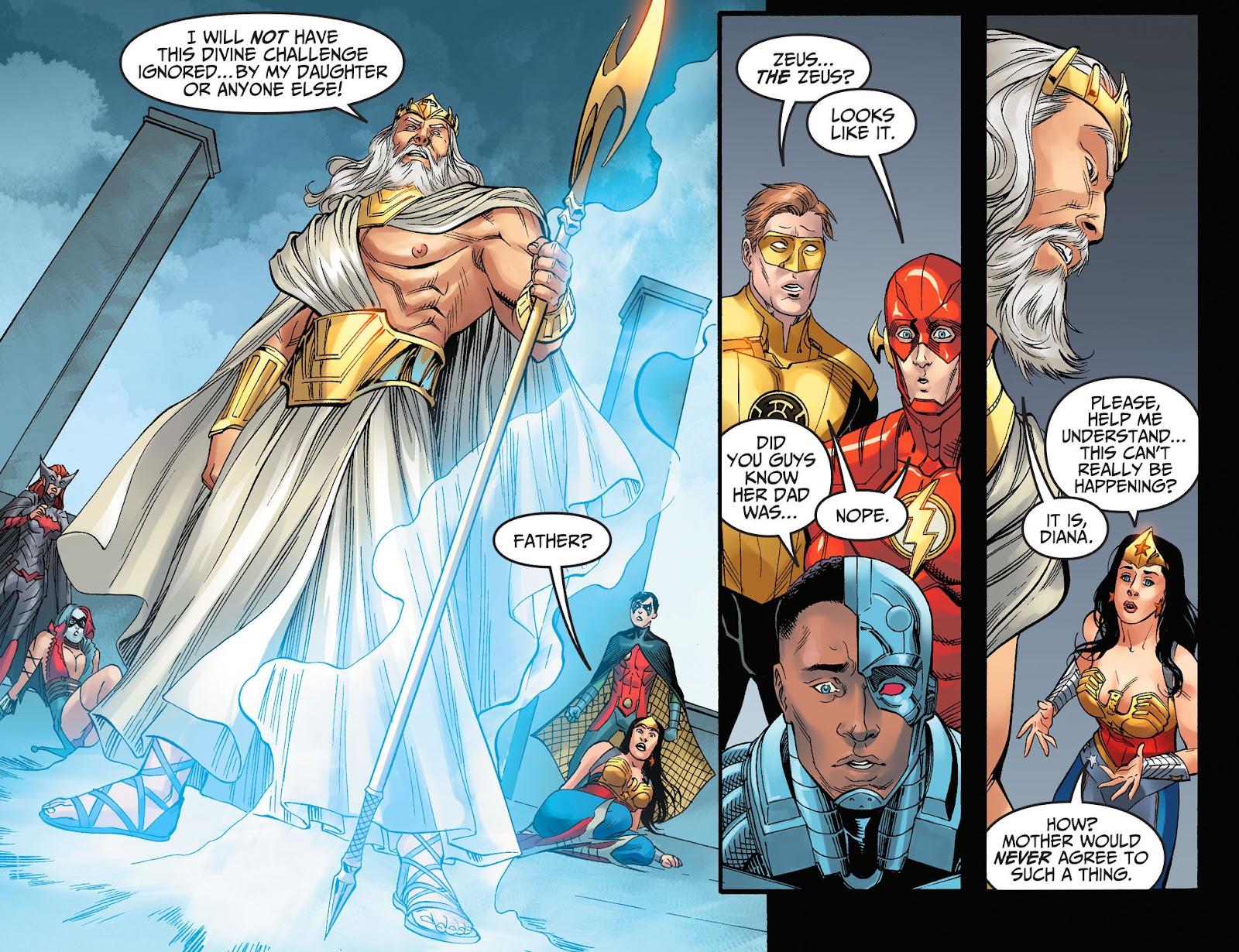 Injustice: Gods Among Us Year Four Issue #8 #9 - English 14