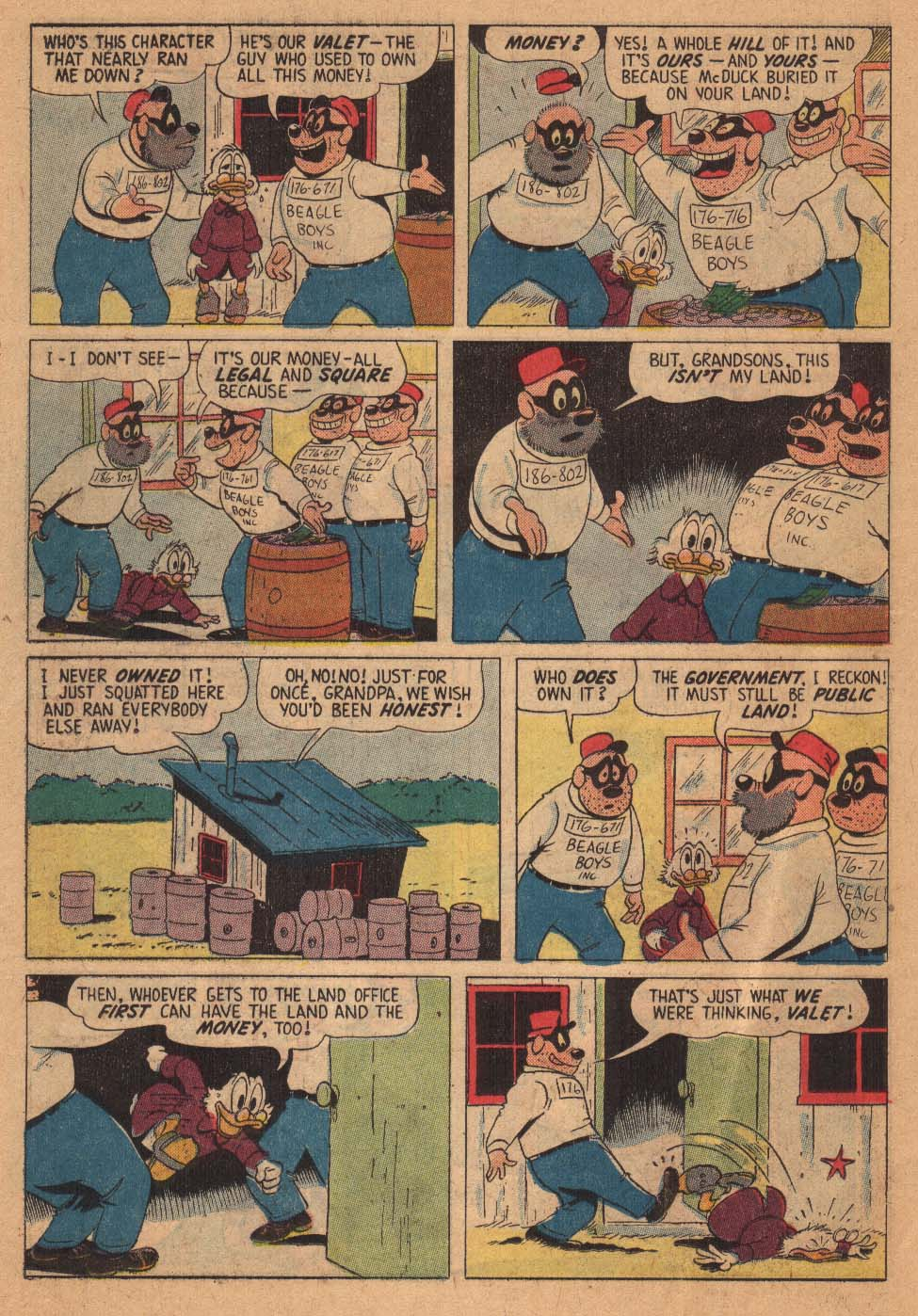 Uncle Scrooge (1953) Issue #21 #21 - English 26