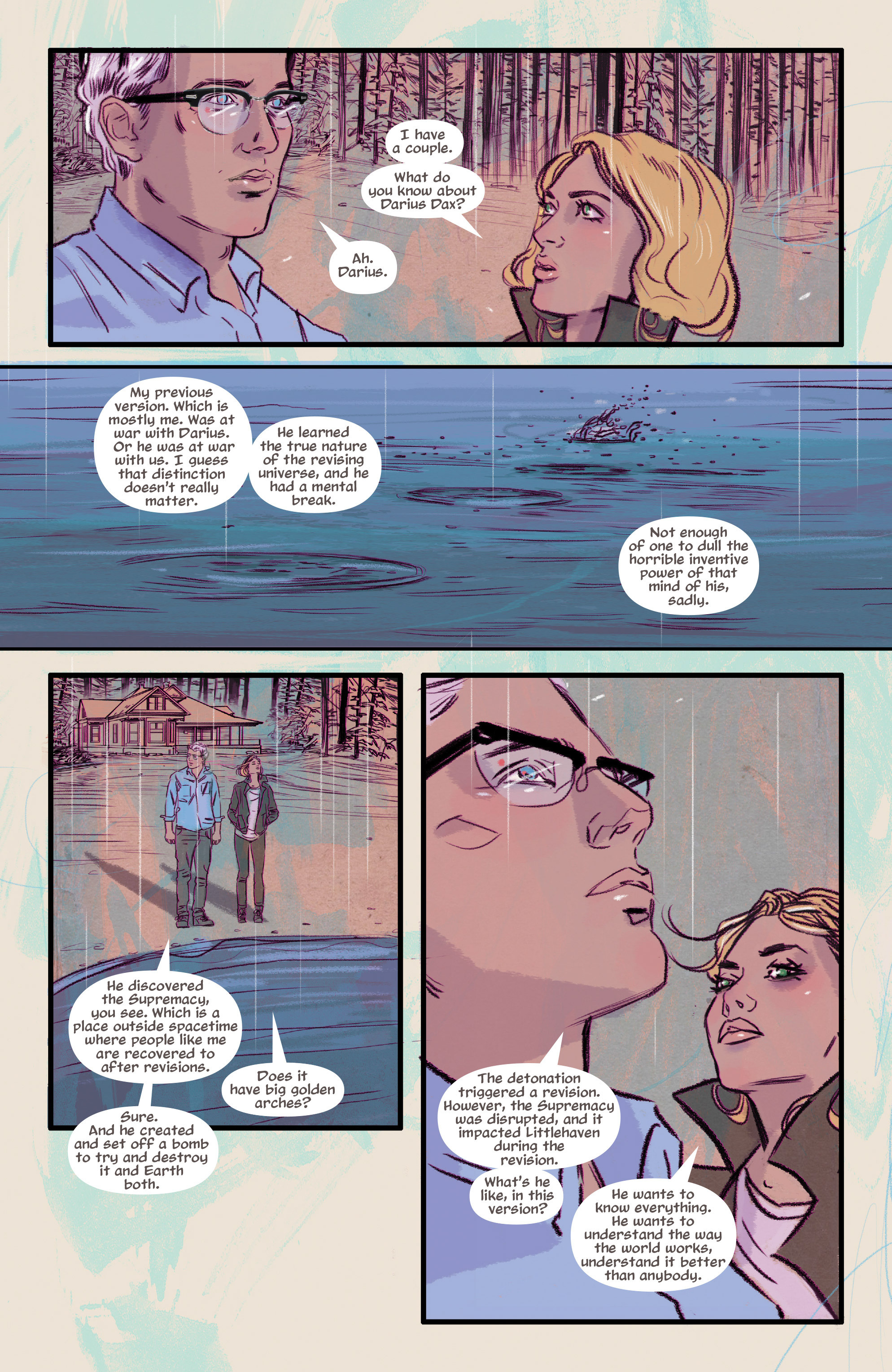 Read online Supreme Blue Rose comic -  Issue #7 - 8