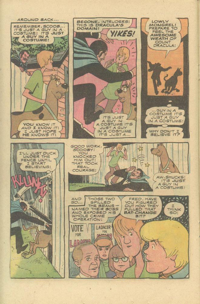 Read online Scooby-Doo... Mystery Comics comic -  Issue #25 - 13