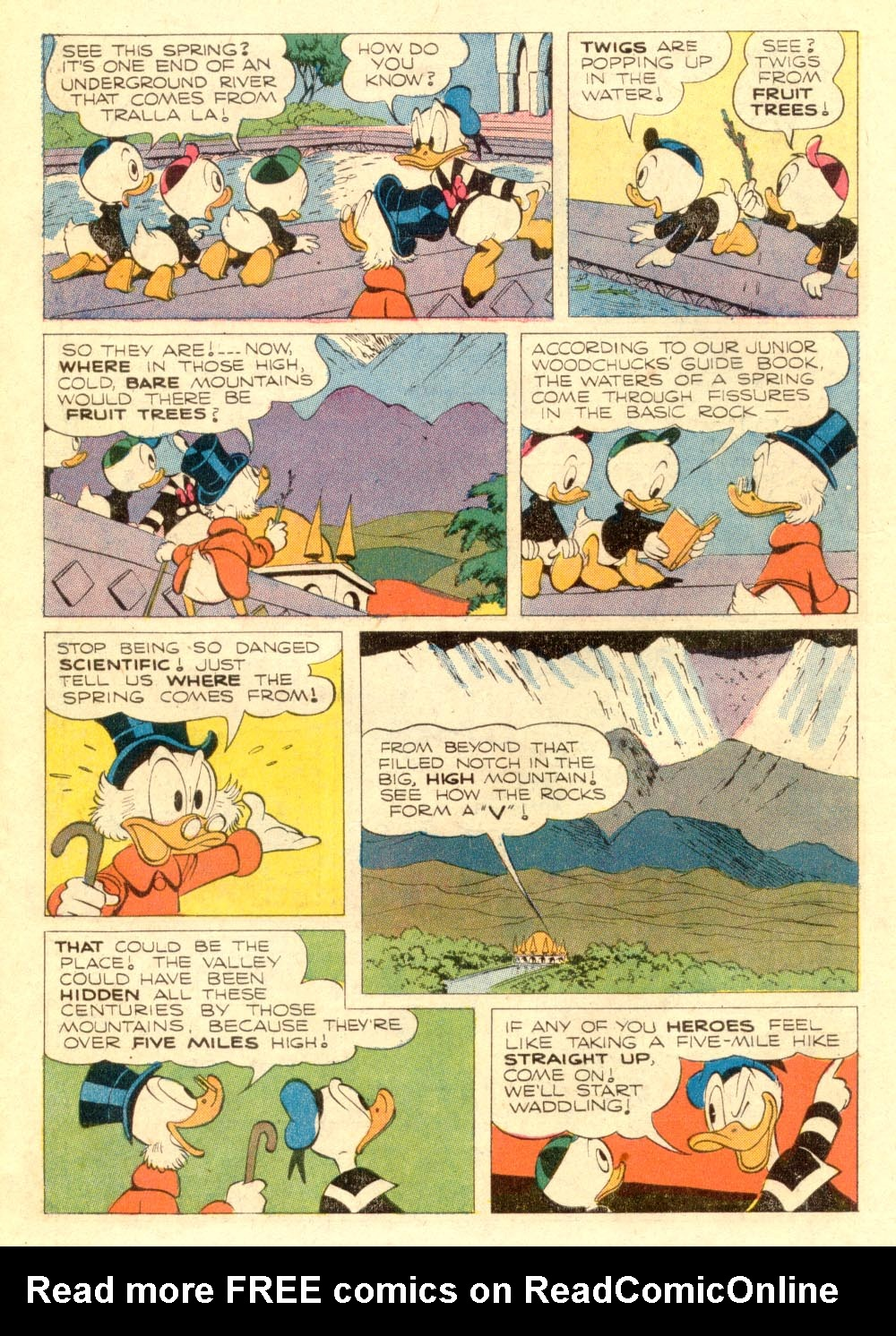 Uncle Scrooge (1953) Issue #106 #106 - English 10