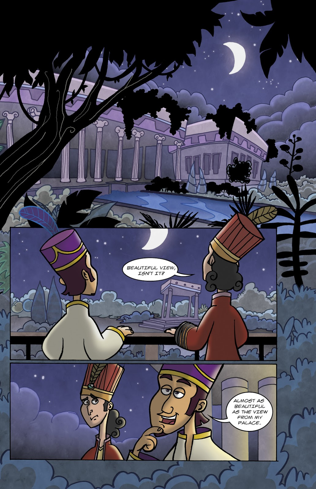 1001 Nights Issue #10 Page 3