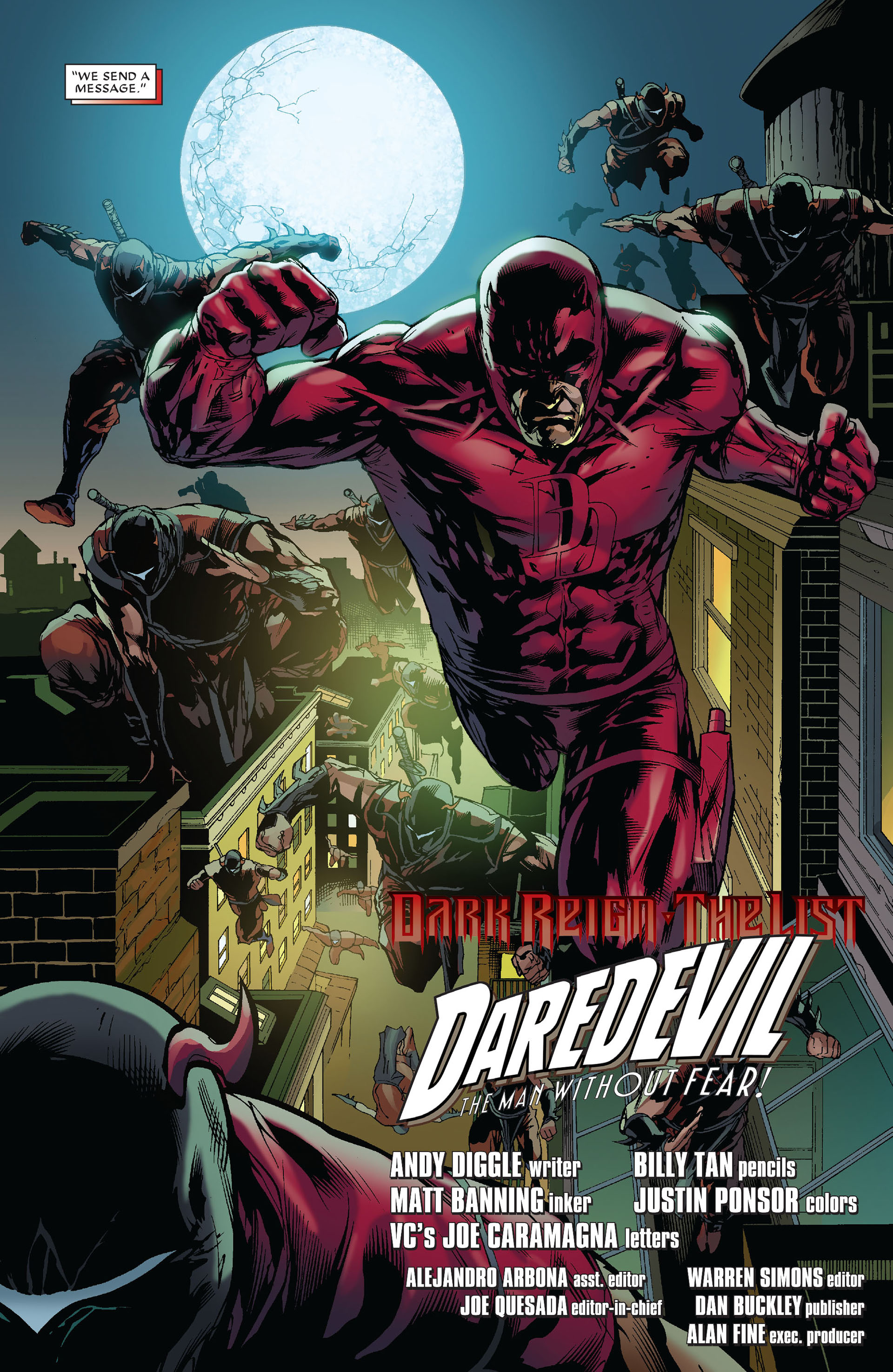 Read online Dark Reign: The List - Daredevil comic -  Issue # Full - 26