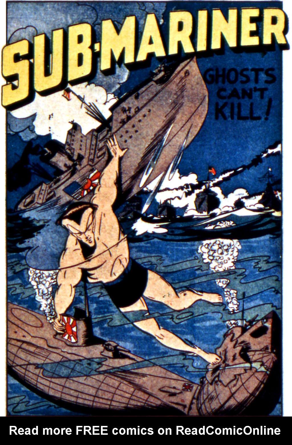 Sub-Mariner Comics Issue #11 #11 - English 3