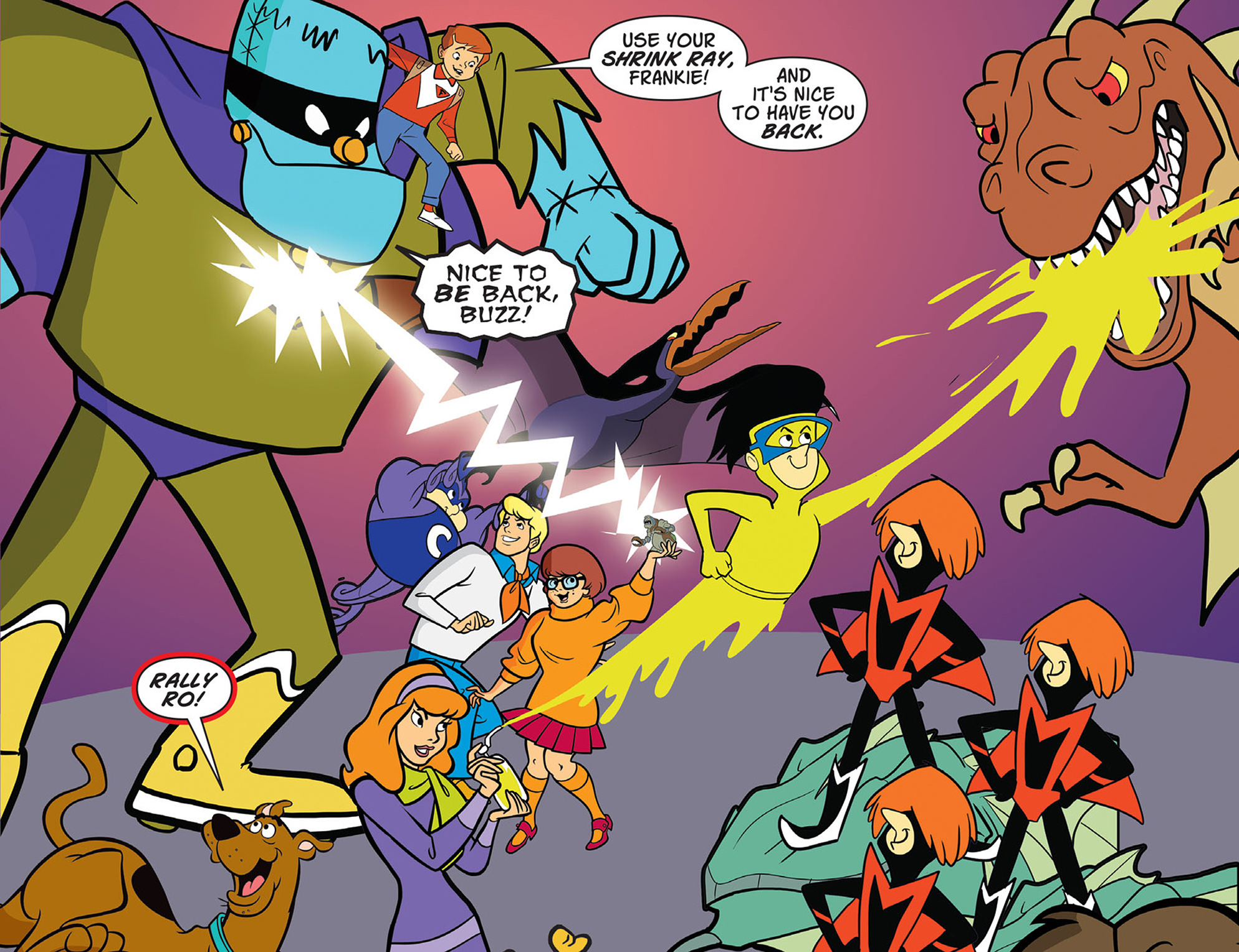 Read online Scooby-Doo! Team-Up comic -  Issue #44 - 22