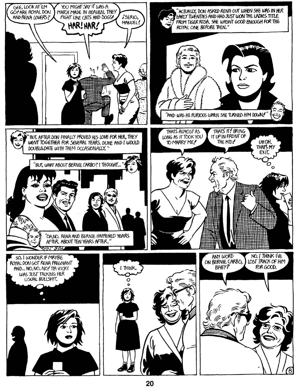 Love and Rockets (1982) Issue #16 #15 - English 22