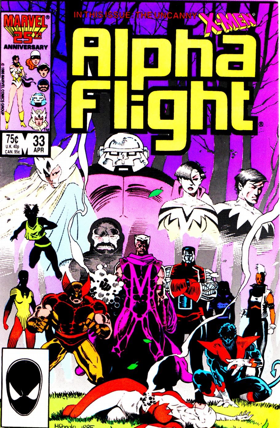 Alpha Flight (1983) 33 Page 1
