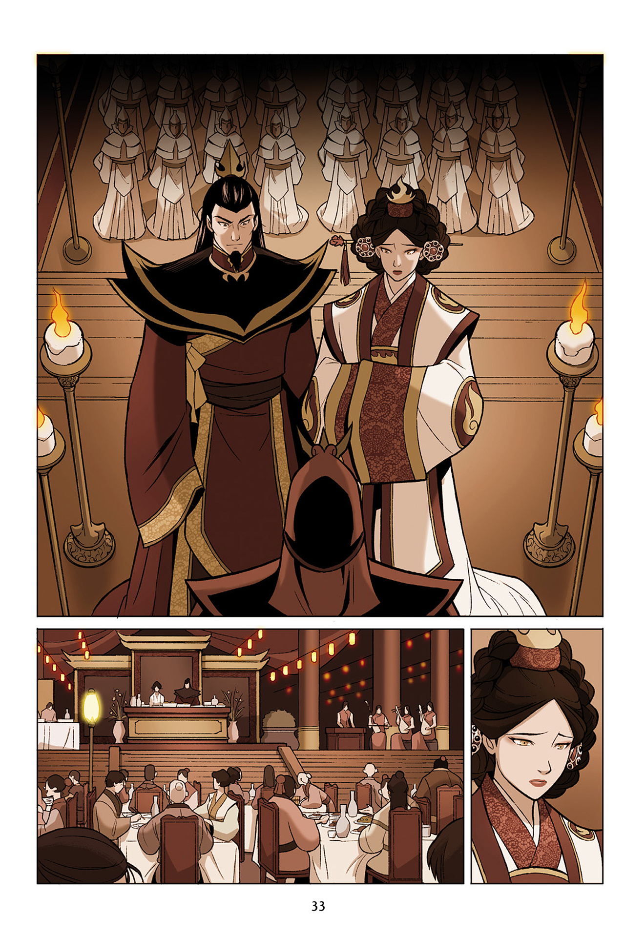 Read online Nickelodeon Avatar: The Last Airbender - The Search comic -  Issue # Part 1 - 34