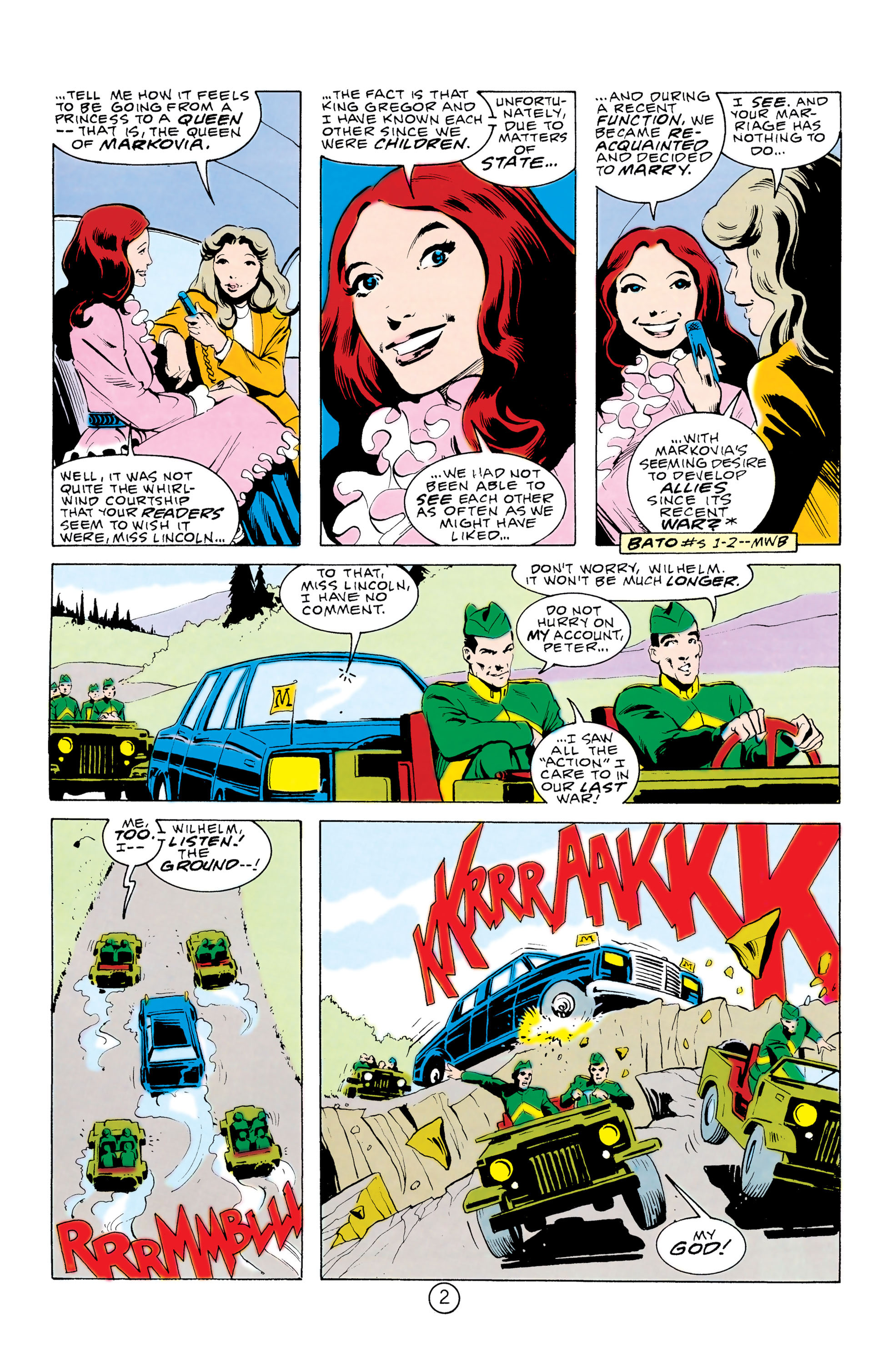 Batman and the Outsiders (1983) 32 Page 2