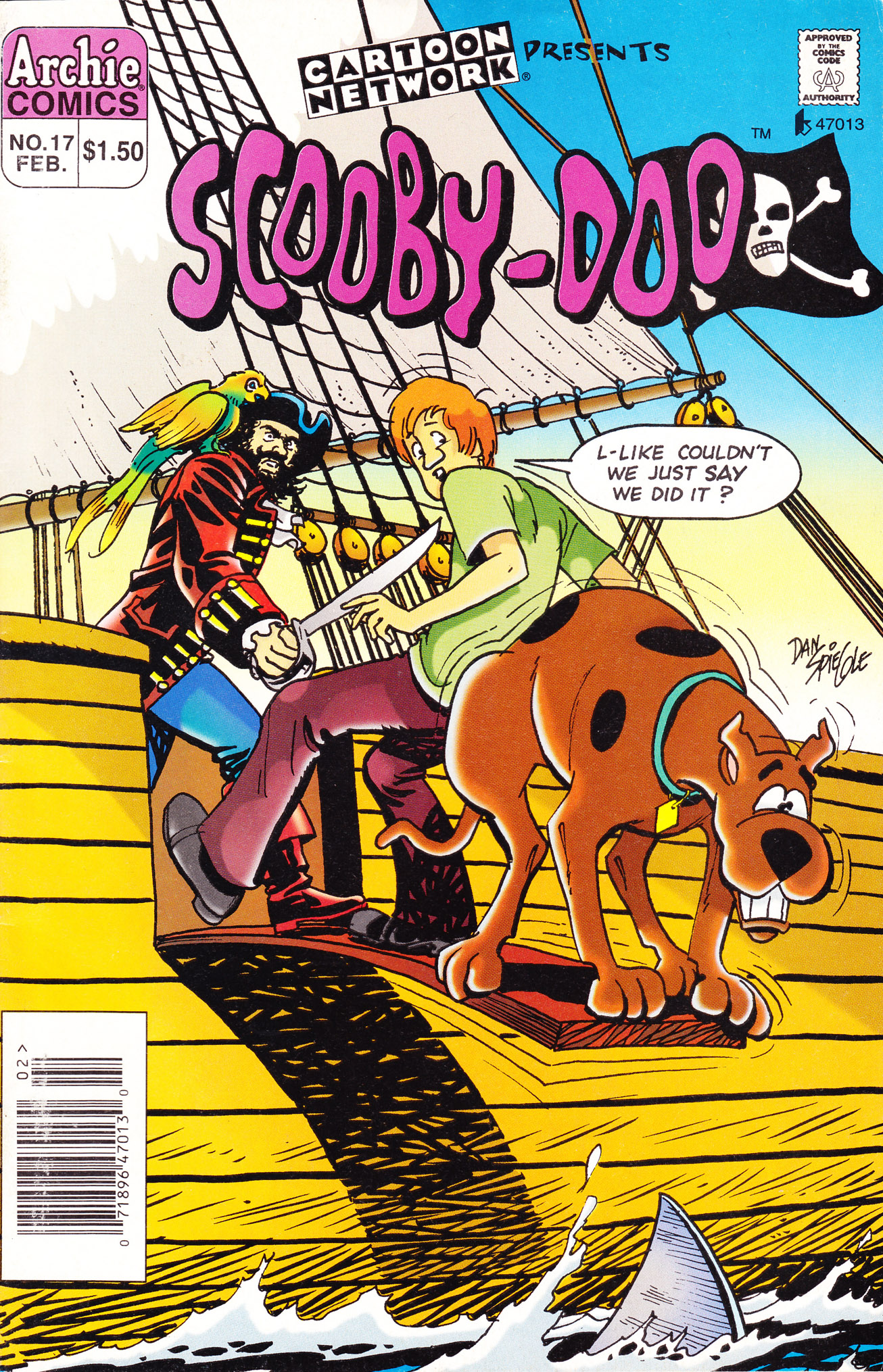 Read online Scooby-Doo (1995) comic -  Issue #17 - 1