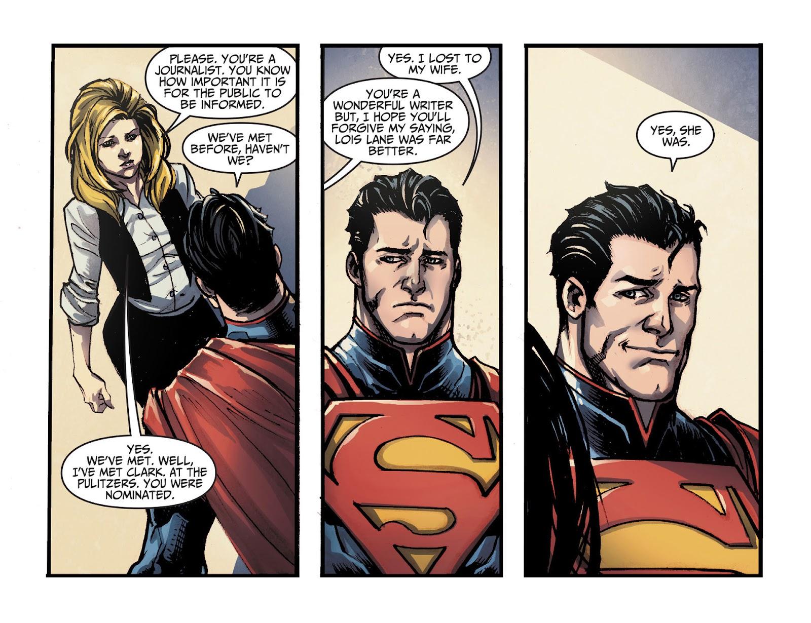 Injustice: Gods Among Us [I] Issue #14 #15 - English 12