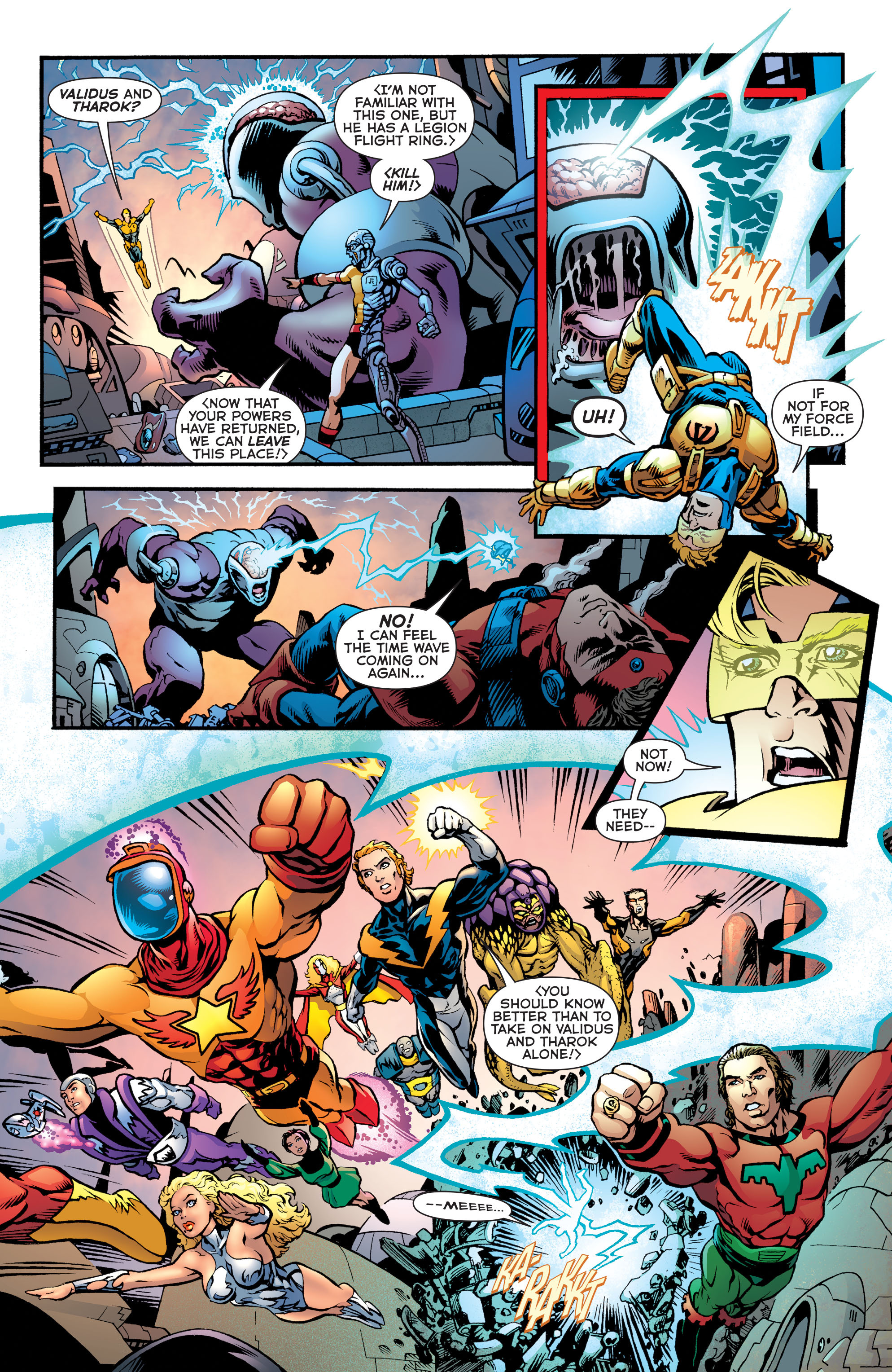 Read online Booster Gold: Futures End comic -  Issue # Full - 10