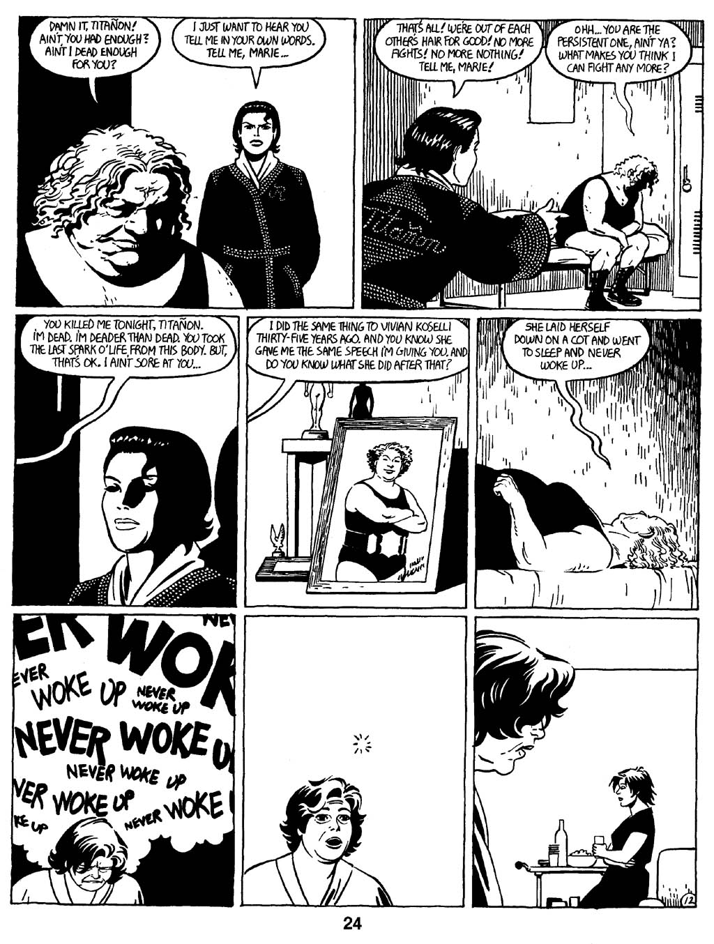Love and Rockets (1982) Issue #16 #15 - English 26