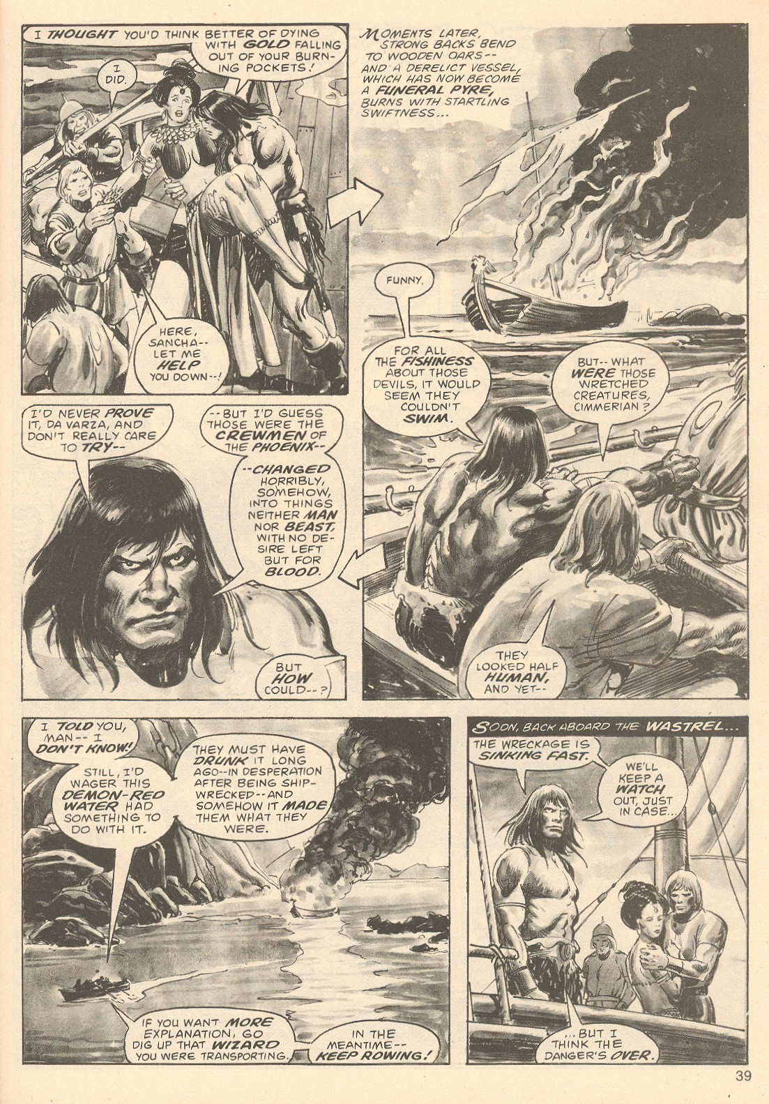 The Savage Sword Of Conan Issue #67 #68 - English 39