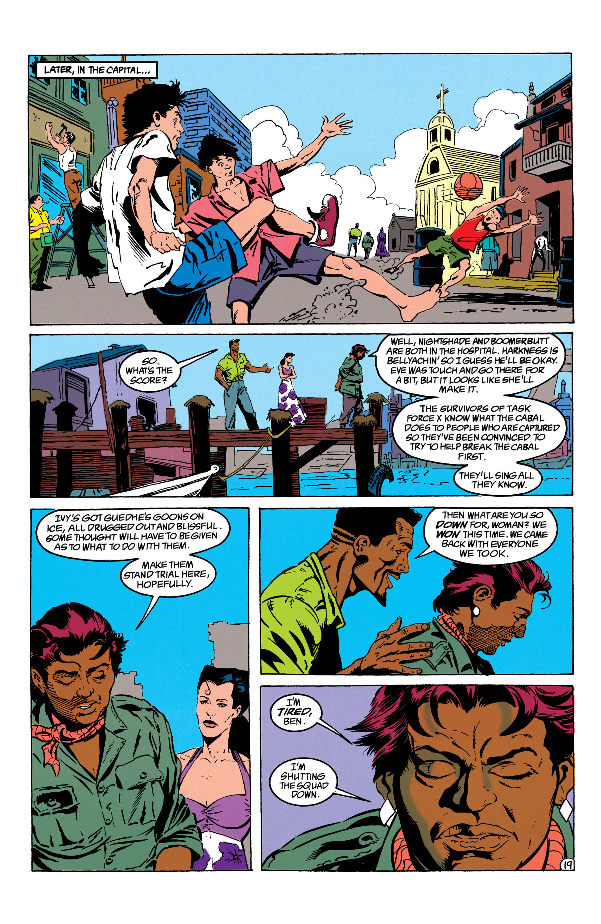 Read online Suicide Squad (1987) comic -  Issue #66 - 20
