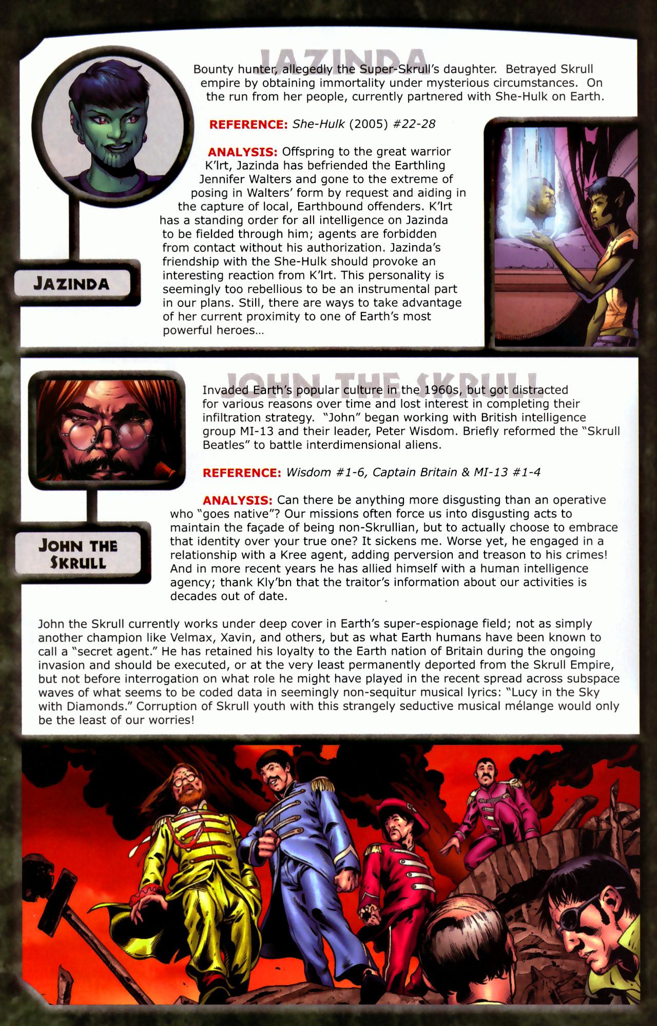 Read online Skrulls! comic -  Issue # Full - 22