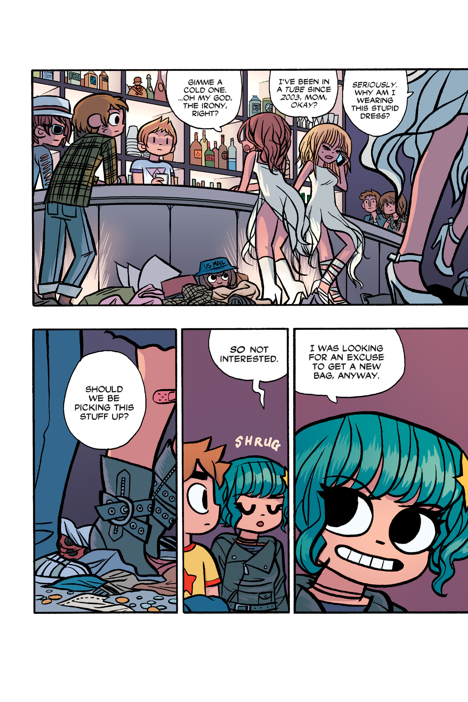 Read online Scott Pilgrim comic -  Issue #6 - 217