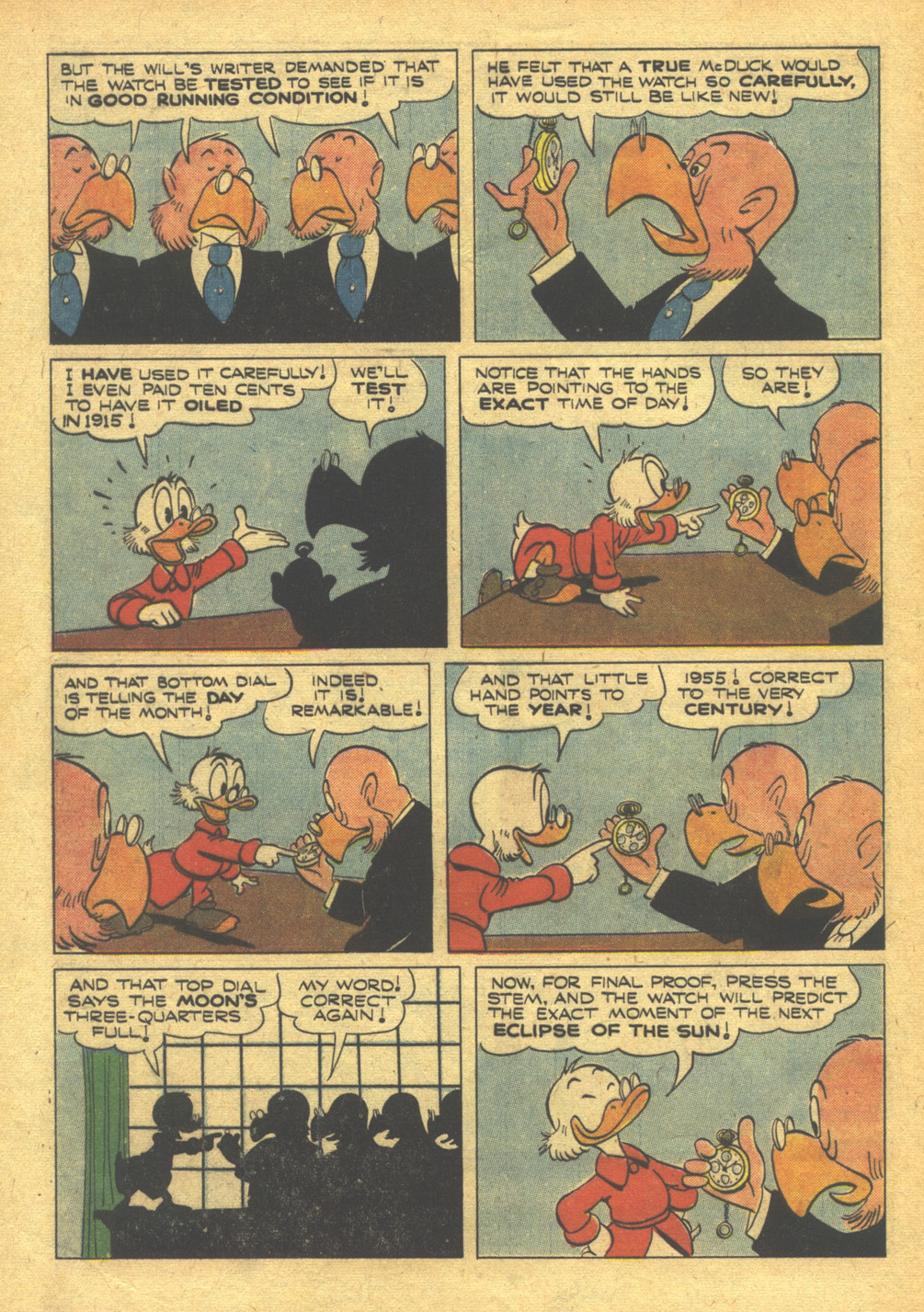 Uncle Scrooge (1953) #10 #395 - English 32
